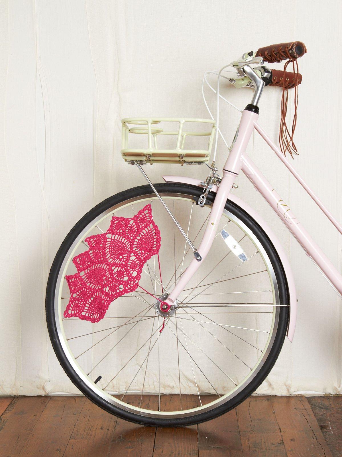 Crochet Skirt Bike Guards