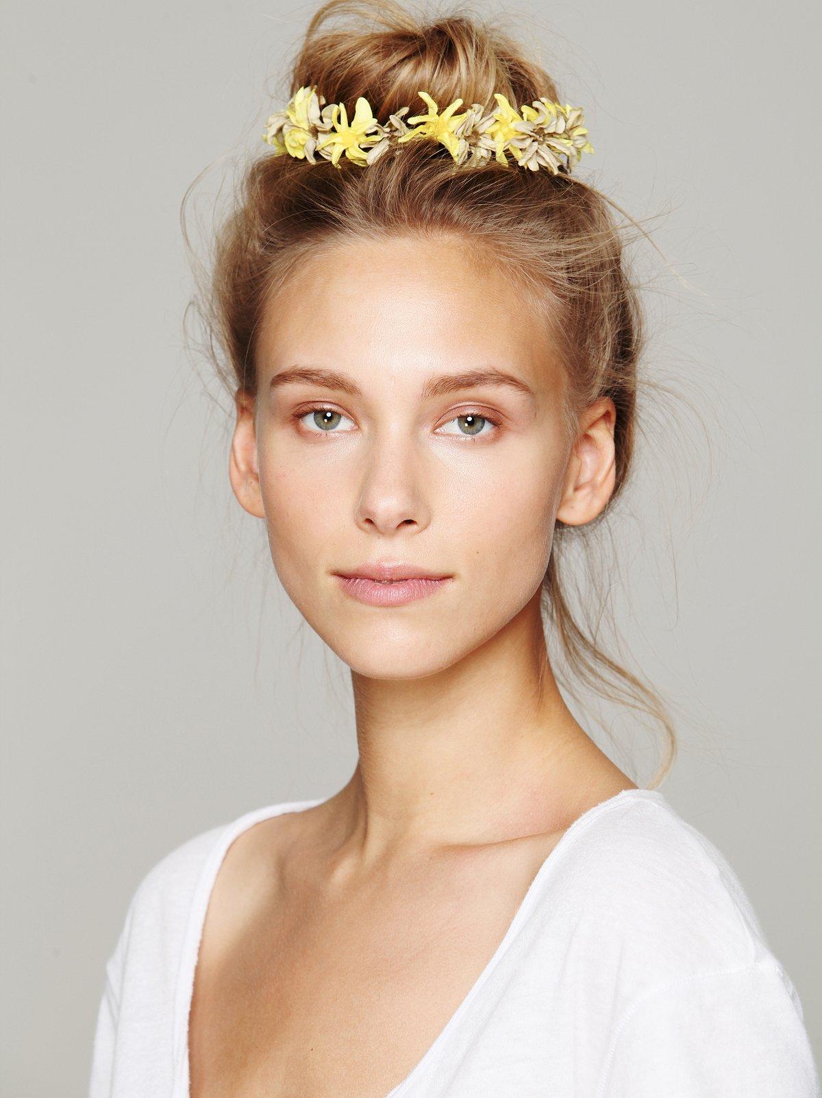 Bun Floral Crowns