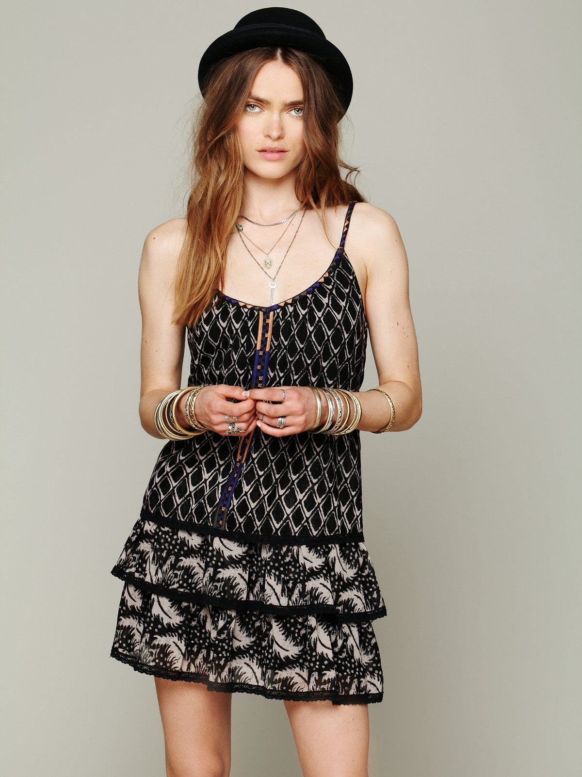 Lake Eden Print Dress