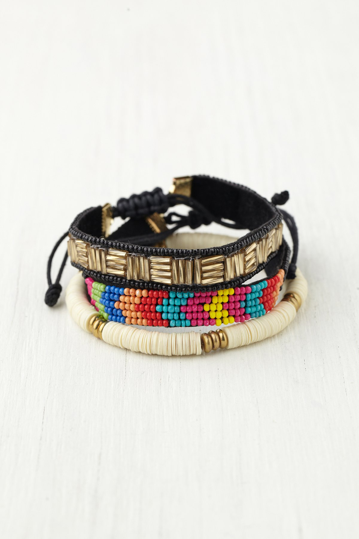 Skinny Bead Friends Bracelet Set
