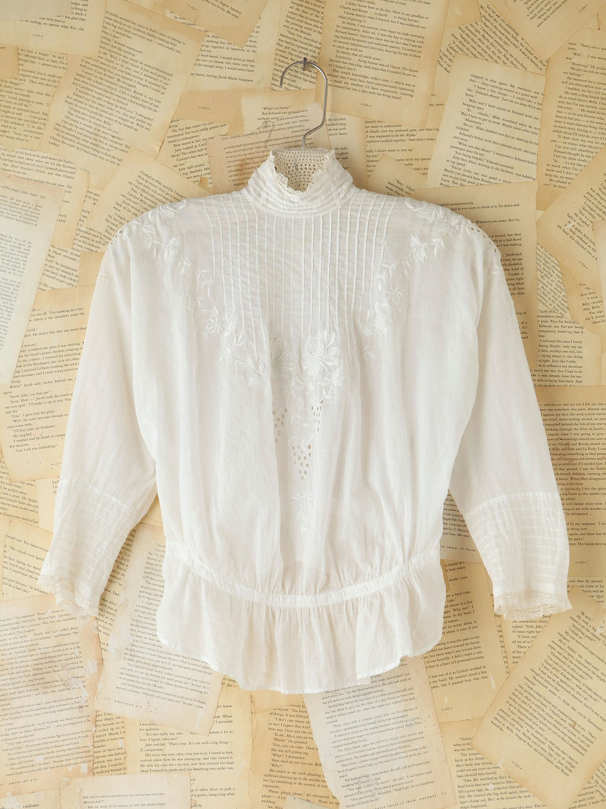 Vintage Embroidered Victorian Top