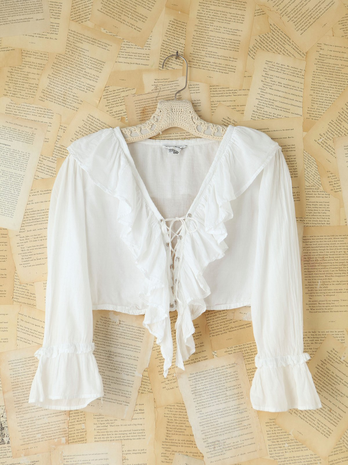 Vintage 1950s Cotton Crop Top