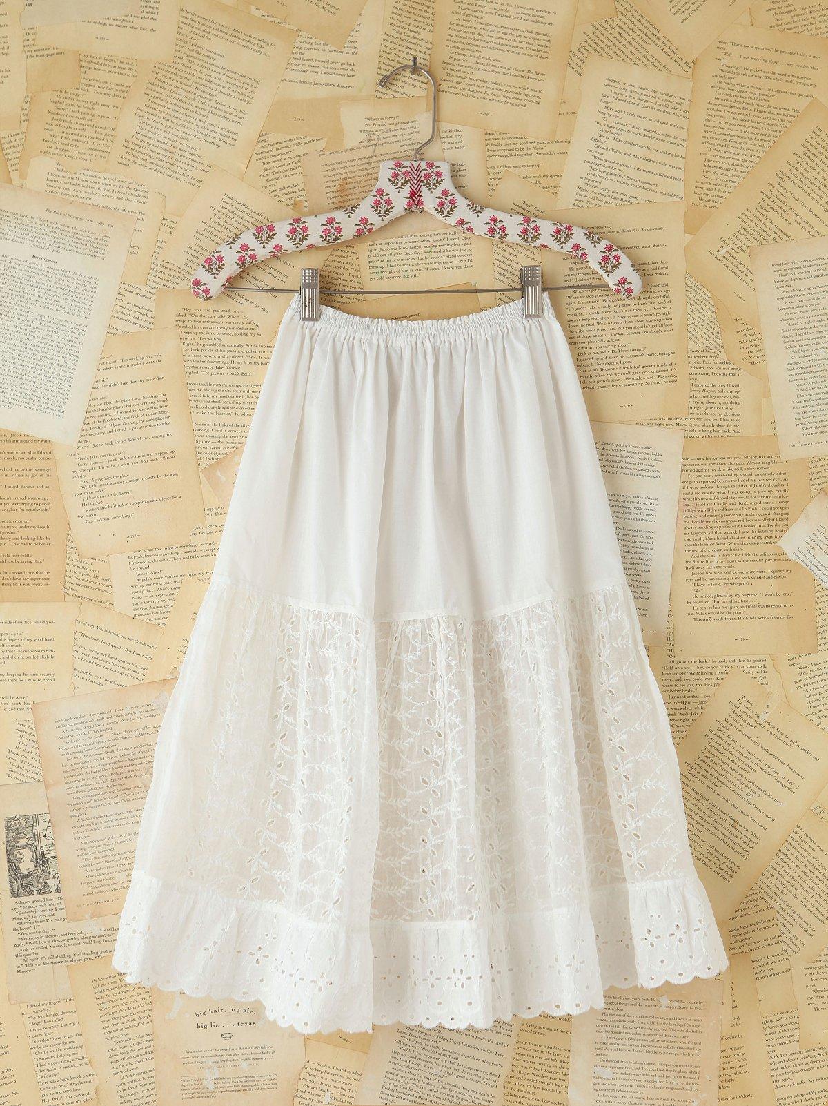 Vintage Victorian Mid-Length Skirt