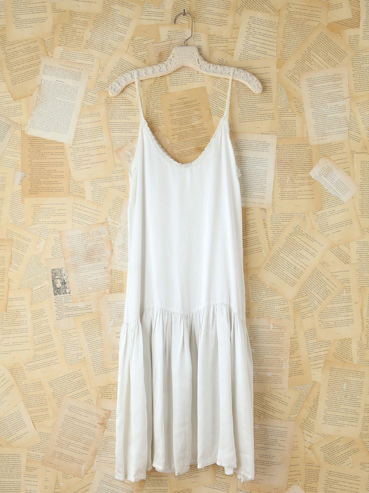 Vintage Silk Dropwaist Slip