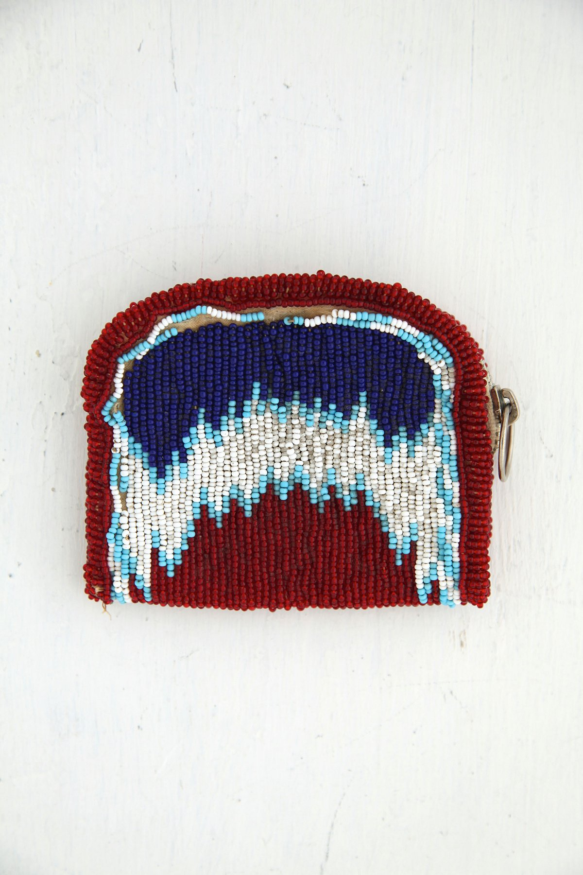 Vintage Beaded Coin Pouch