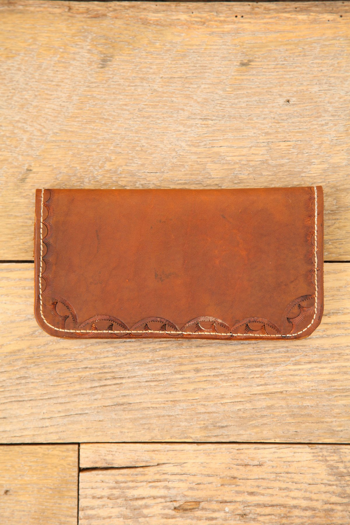 Vintage Duo Fold Leather Wallet