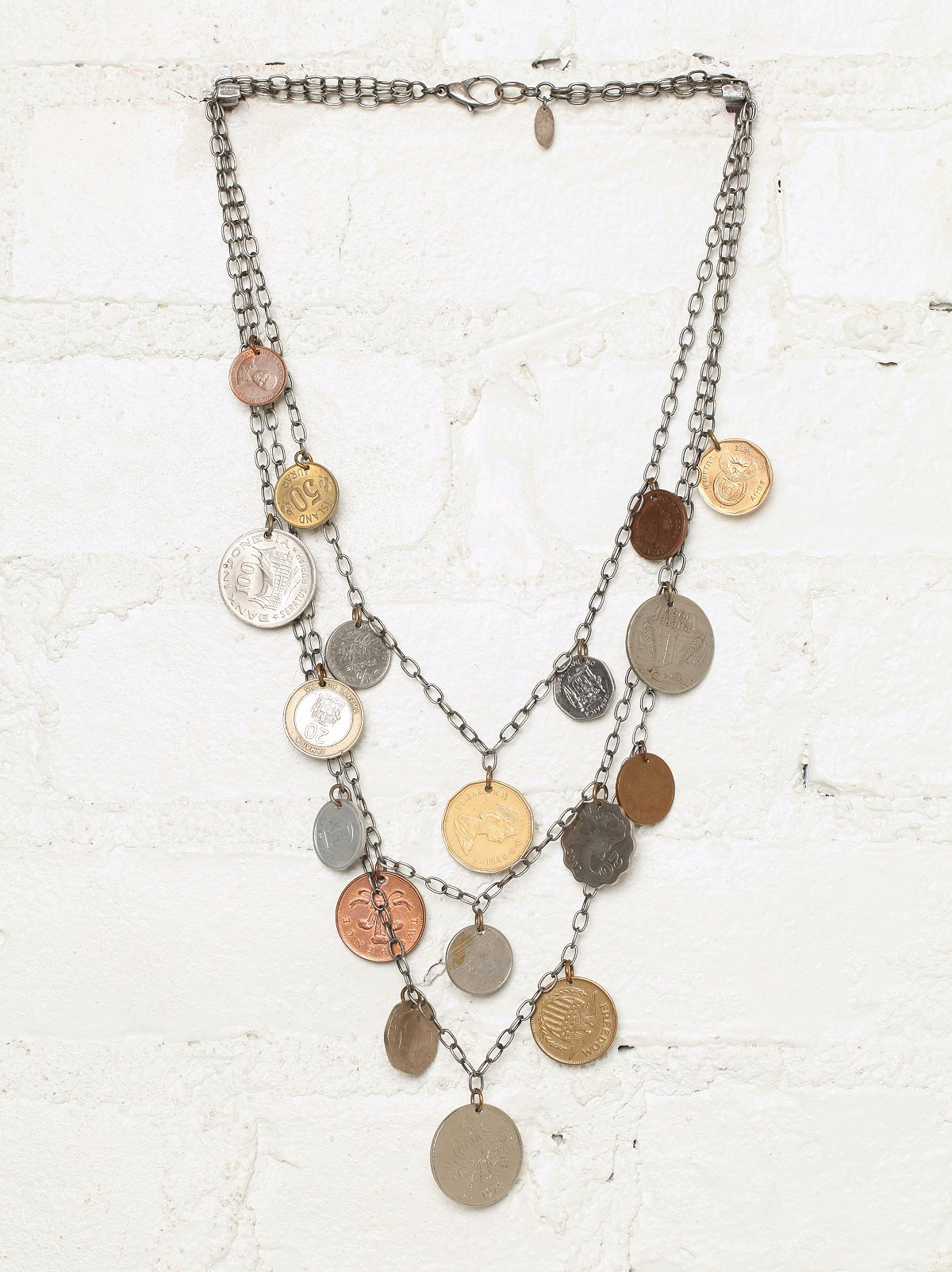 Vintage Layered Coin Necklace