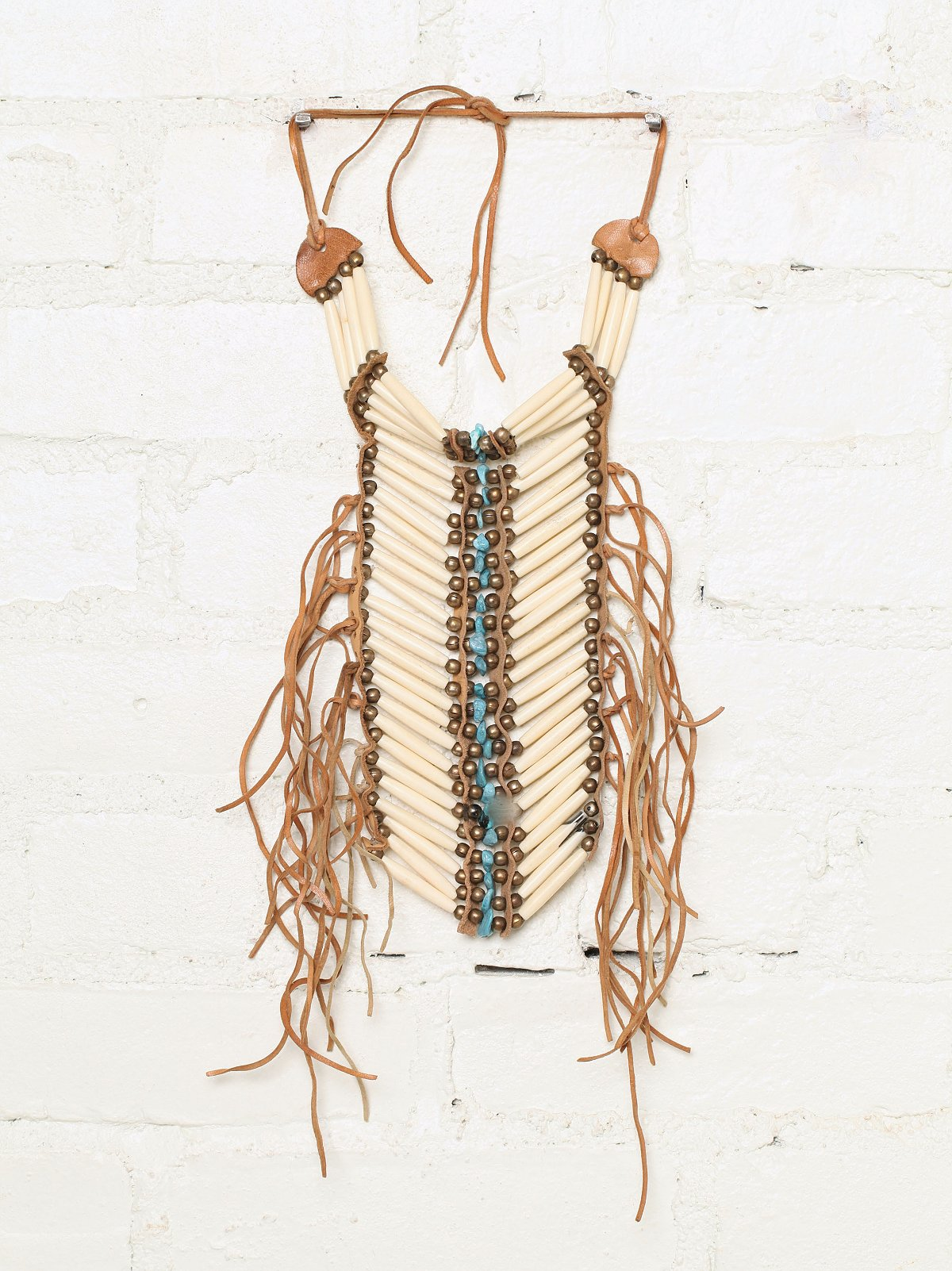 Vintage Fringe Breastplate Necklace