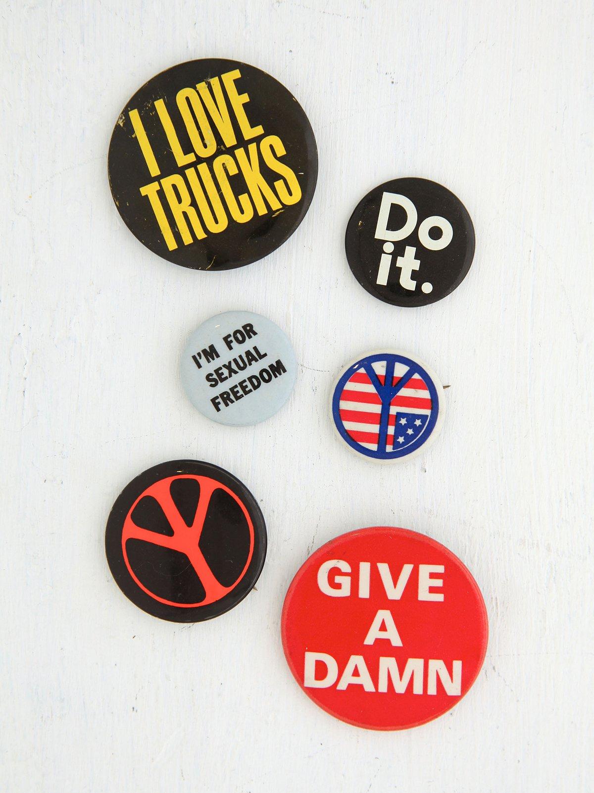 Vintage Set of Assorted Pins
