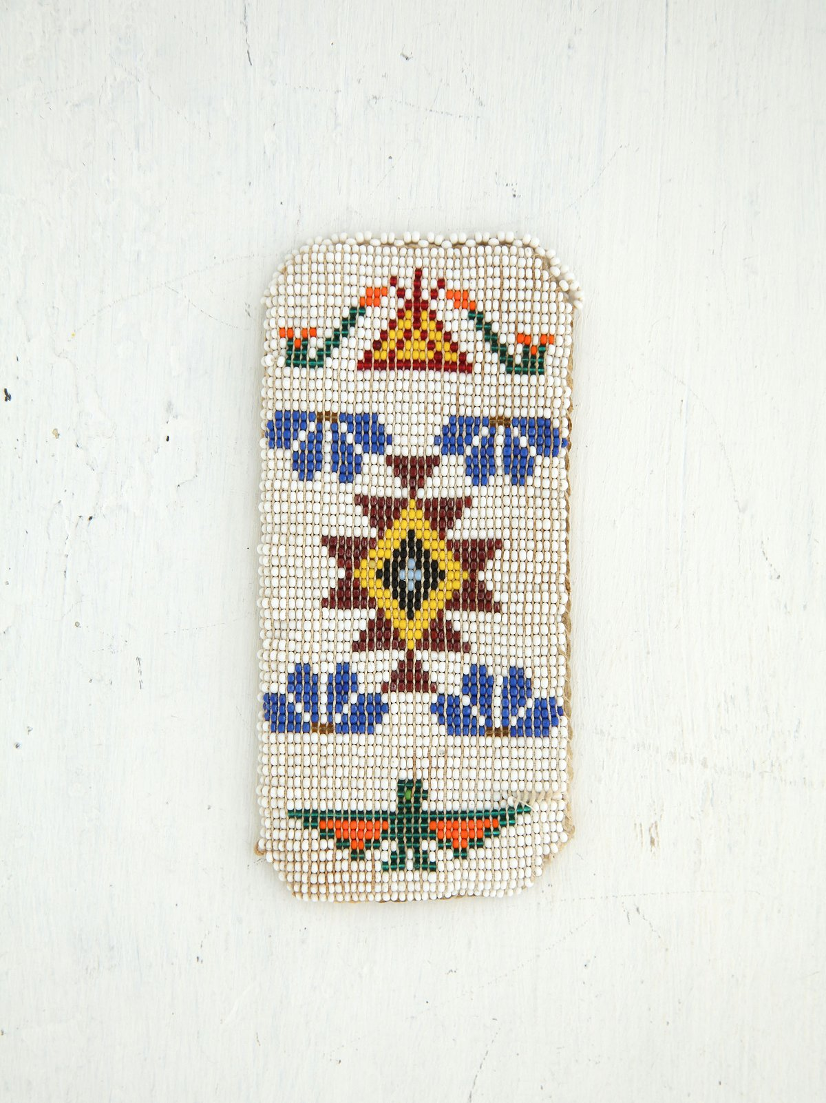 Vintage Beaded Eyeglass Pouch
