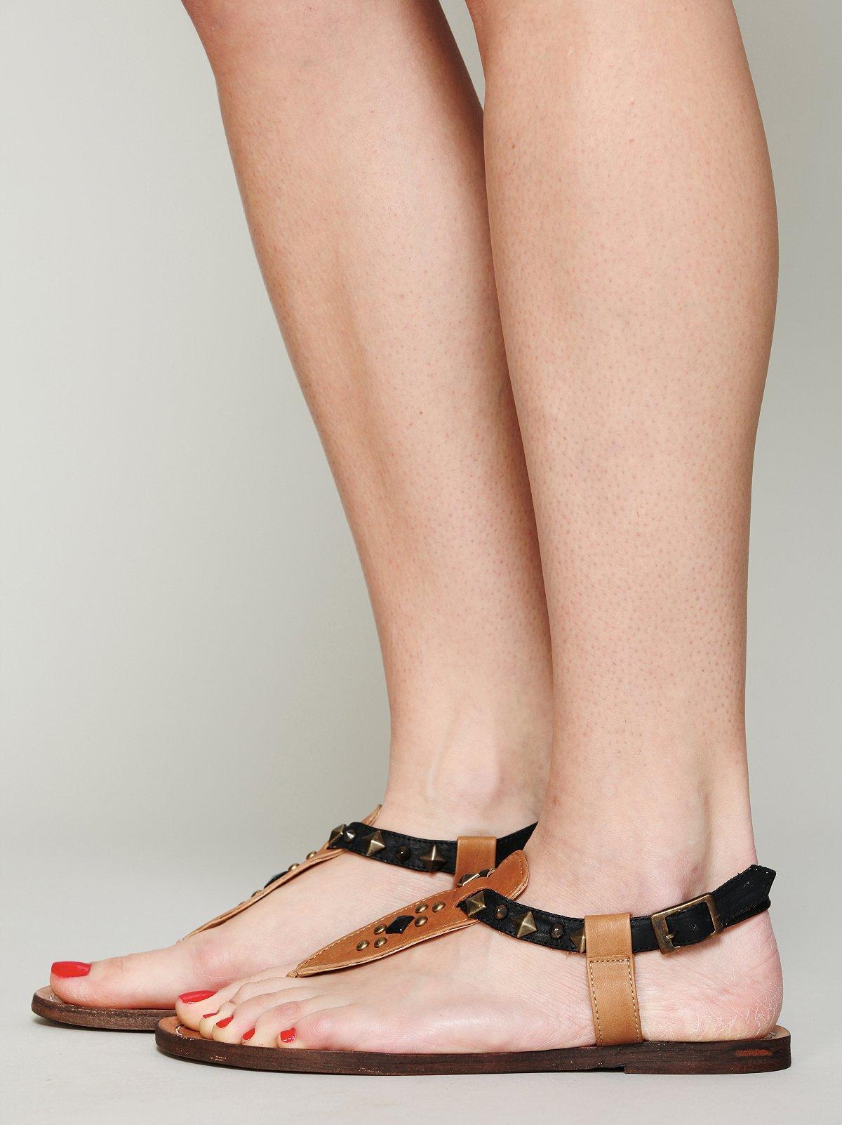 Modesto T-Strap Sandal