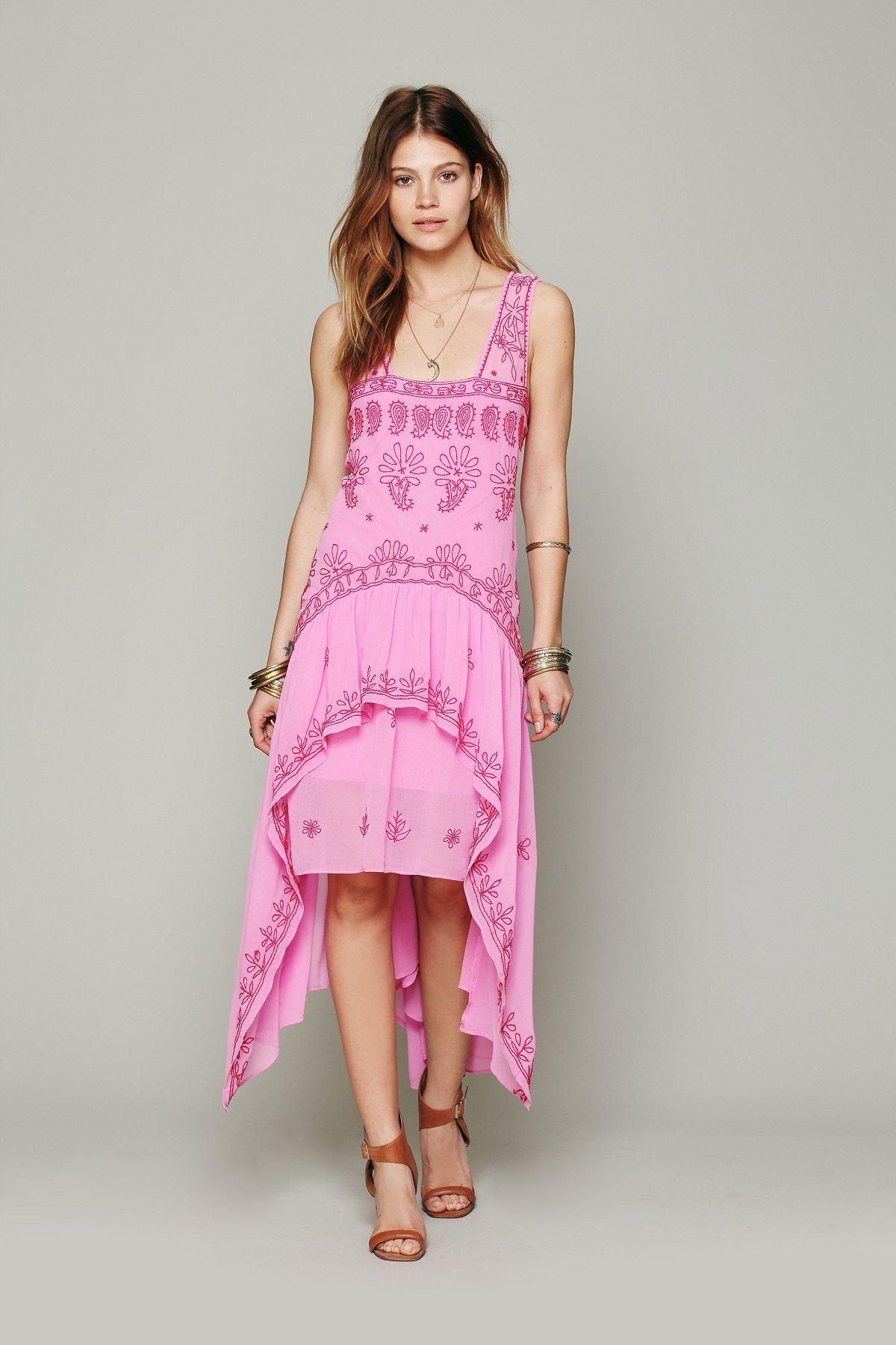 FP New Romantics Cassiopeia Embroidered Dress