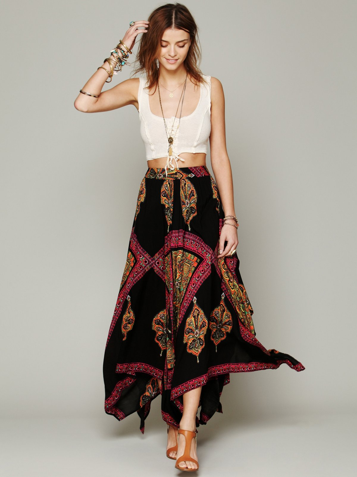 Heart of Gold Skirt