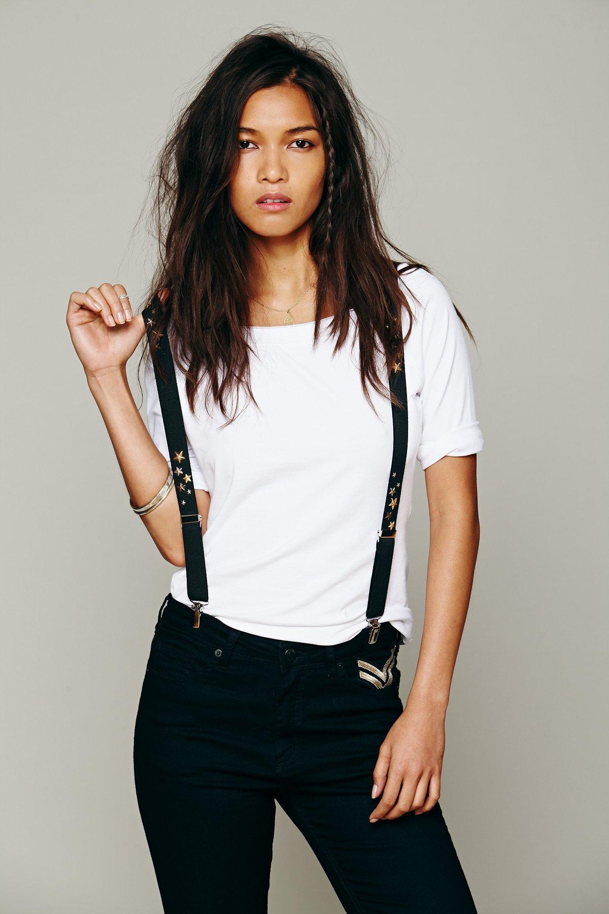 Star Stud Suspenders