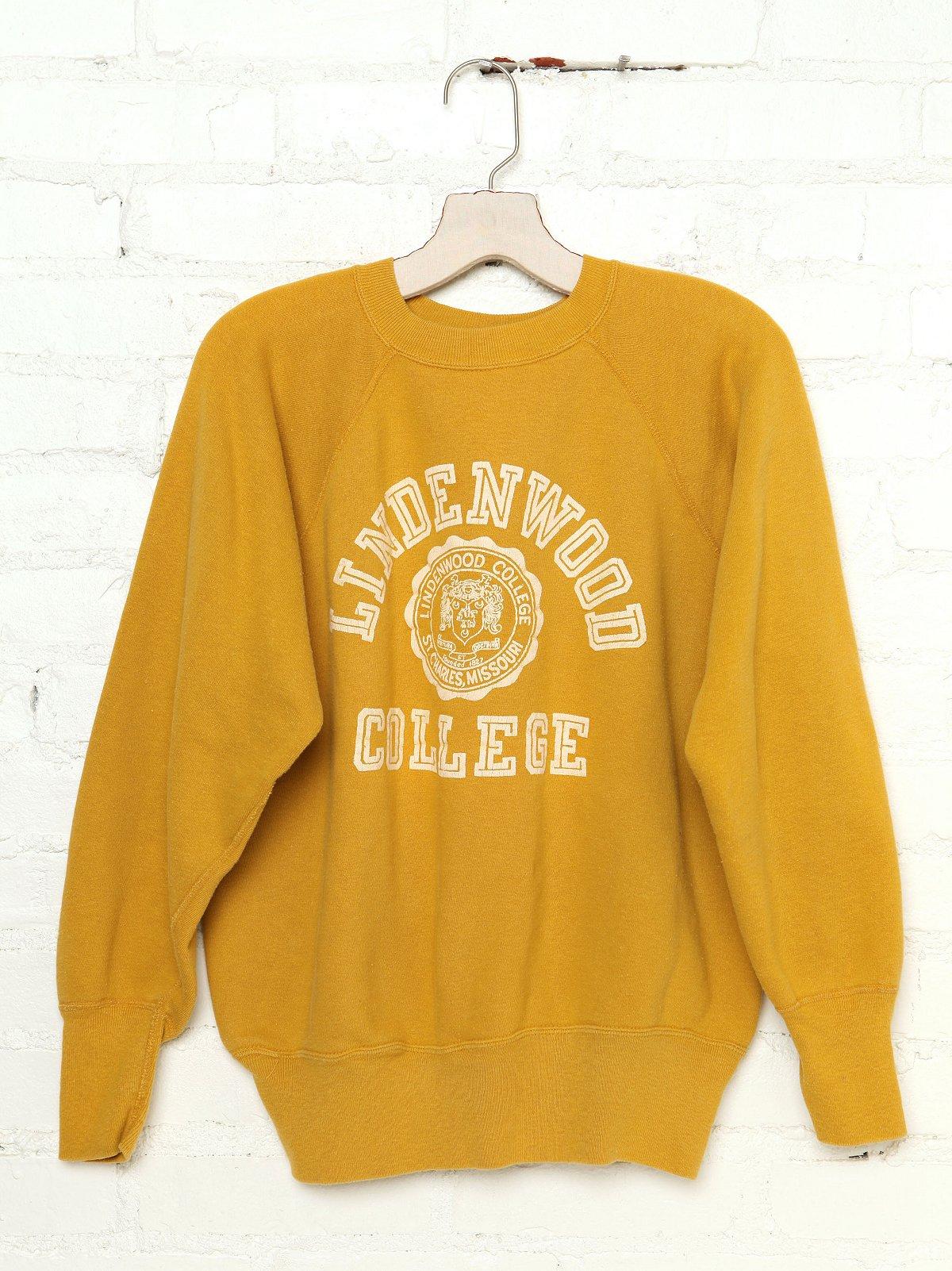 Vintage Lindenwood College Sweatshirt