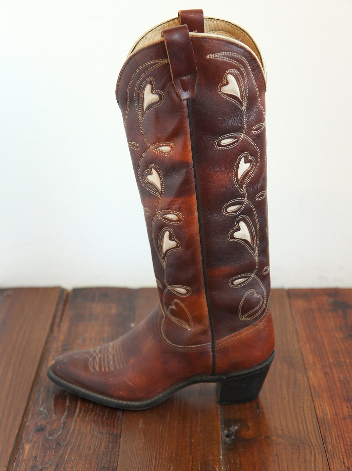 Vintage Wrangler Tall Cowboy Boots