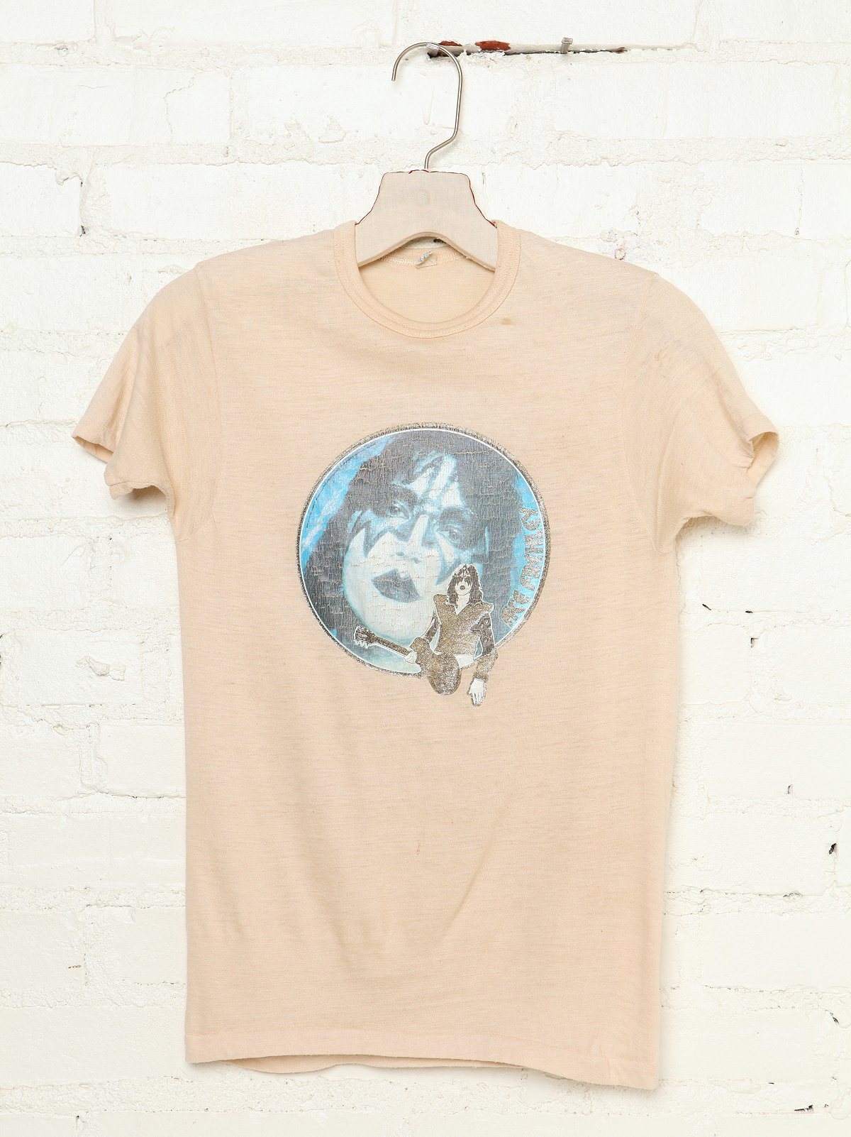 Vintage Ace Frehley Glitter Graphic Tee