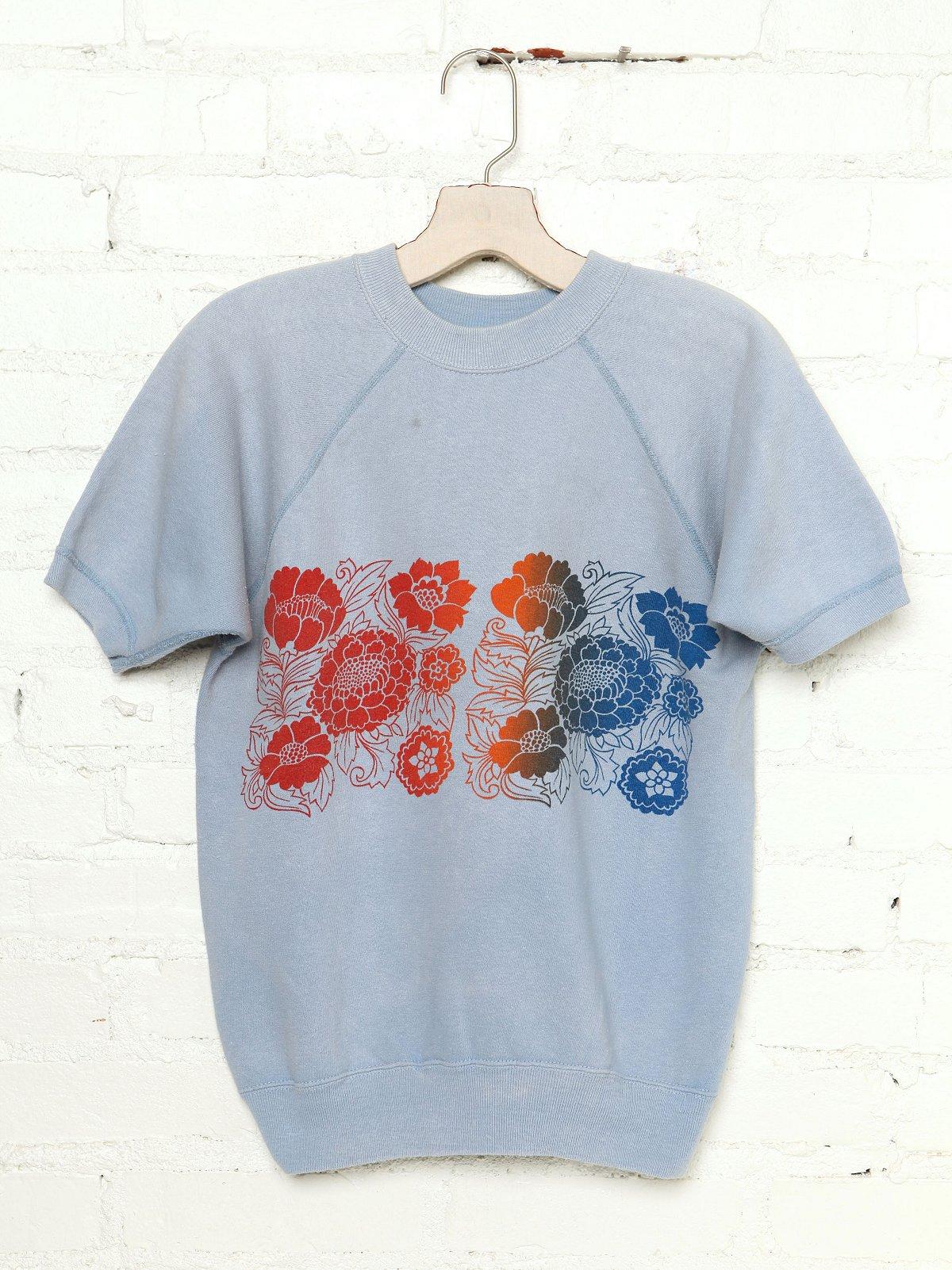 Vintage Floral Sweatshirt