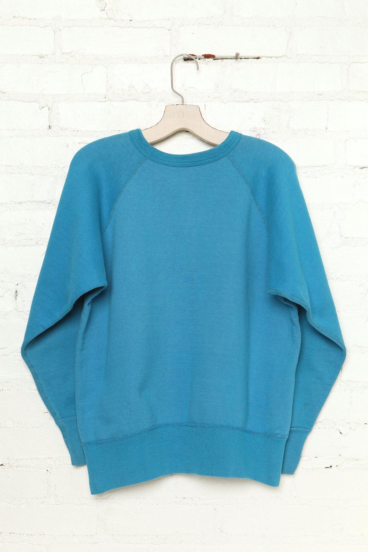 Vintage Basic Blue Sweatshirt