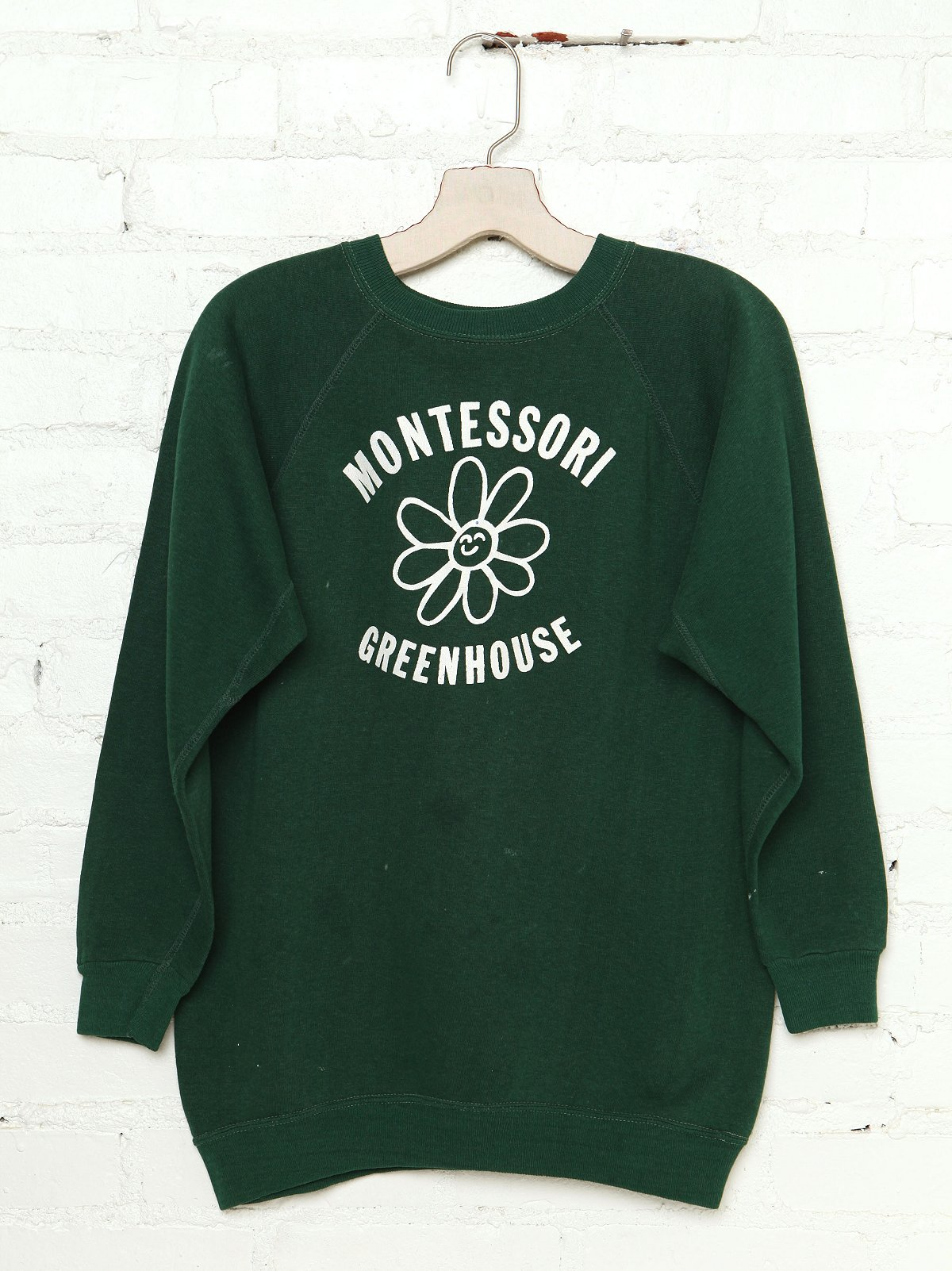 Vintage Montessori Greenhouse Sweatshirt