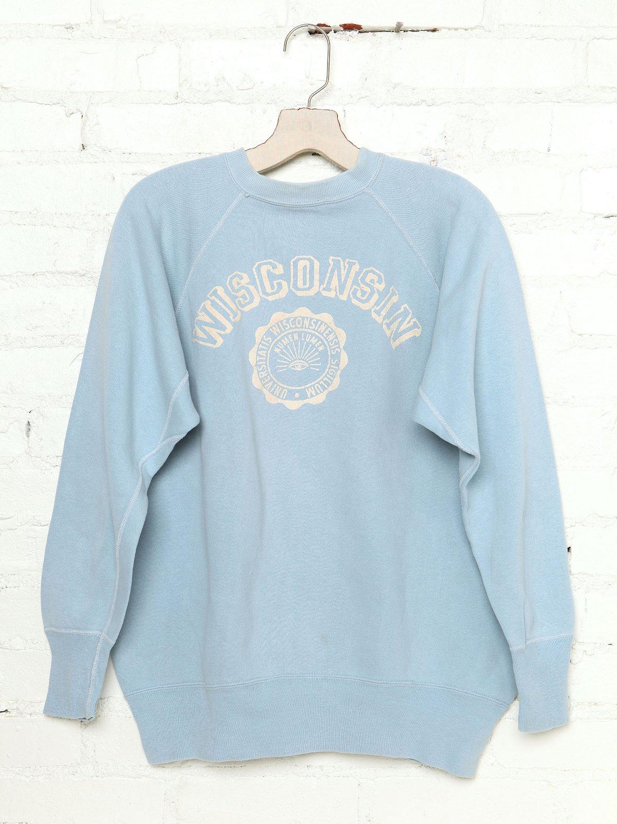 Vintage Wisconsin Sweatshirt