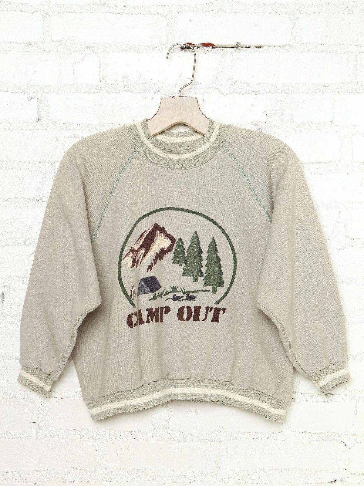 Vintage Camp Out Sweatshirt