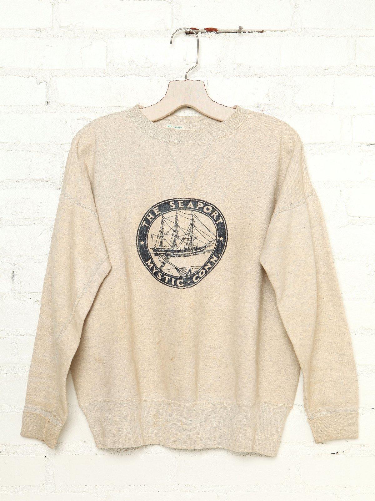 Vintage The Seaport Mystic Sweatshirt