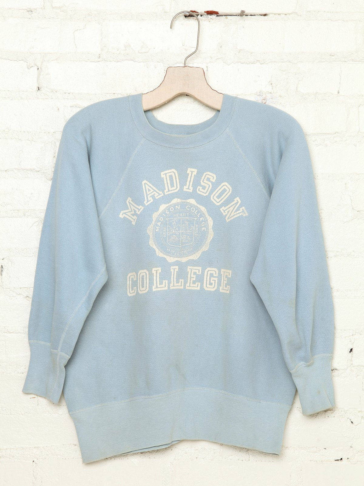 Vintage Madison College Sweatshirt