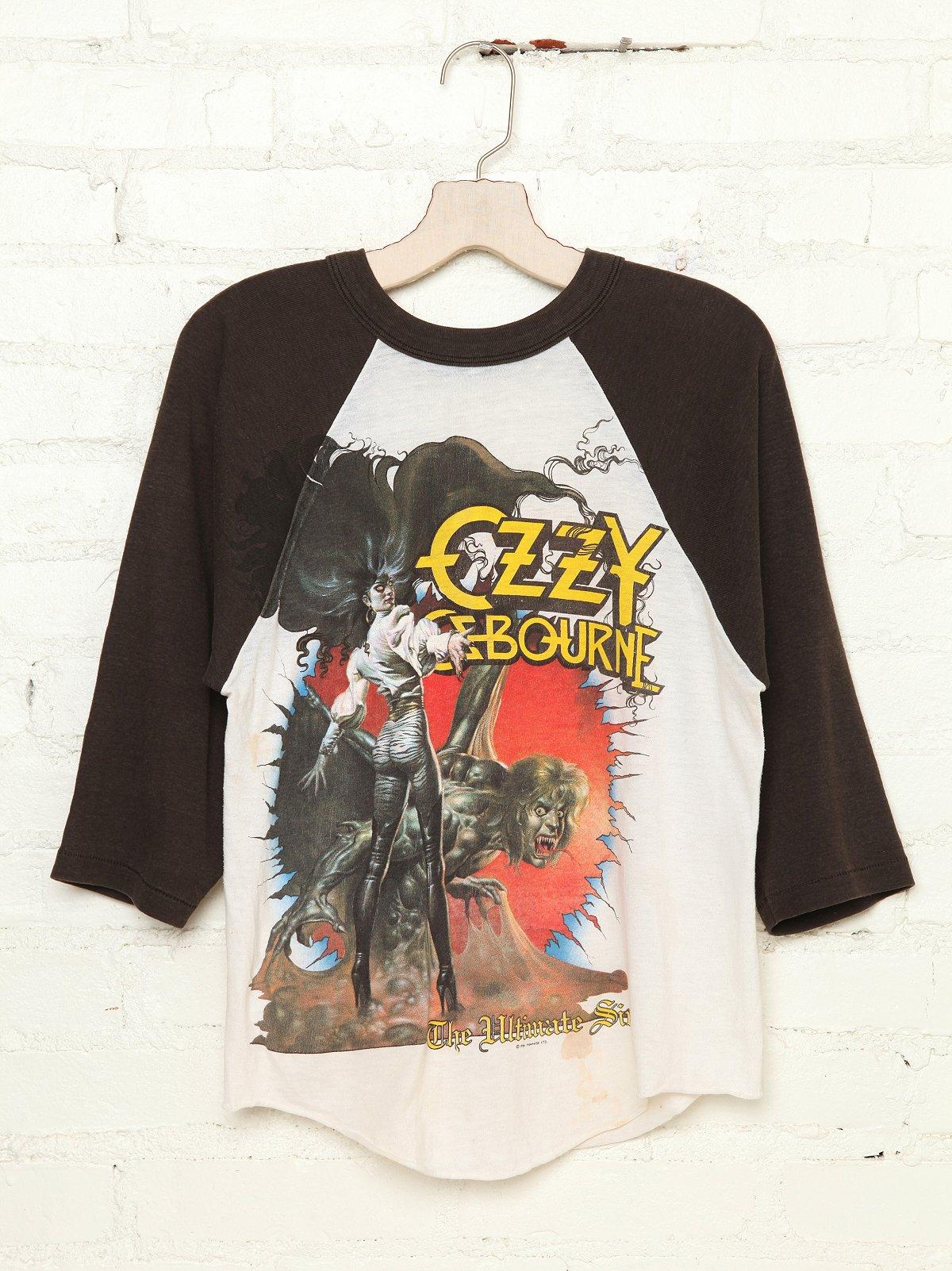 Vintage Ozzy Osbourne Tee