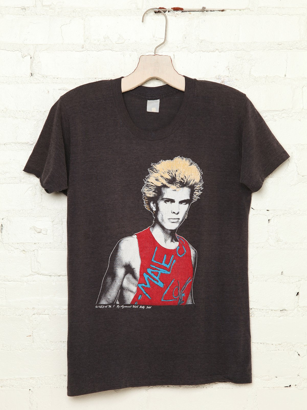 Vintage Billy Idol 1983 Tee