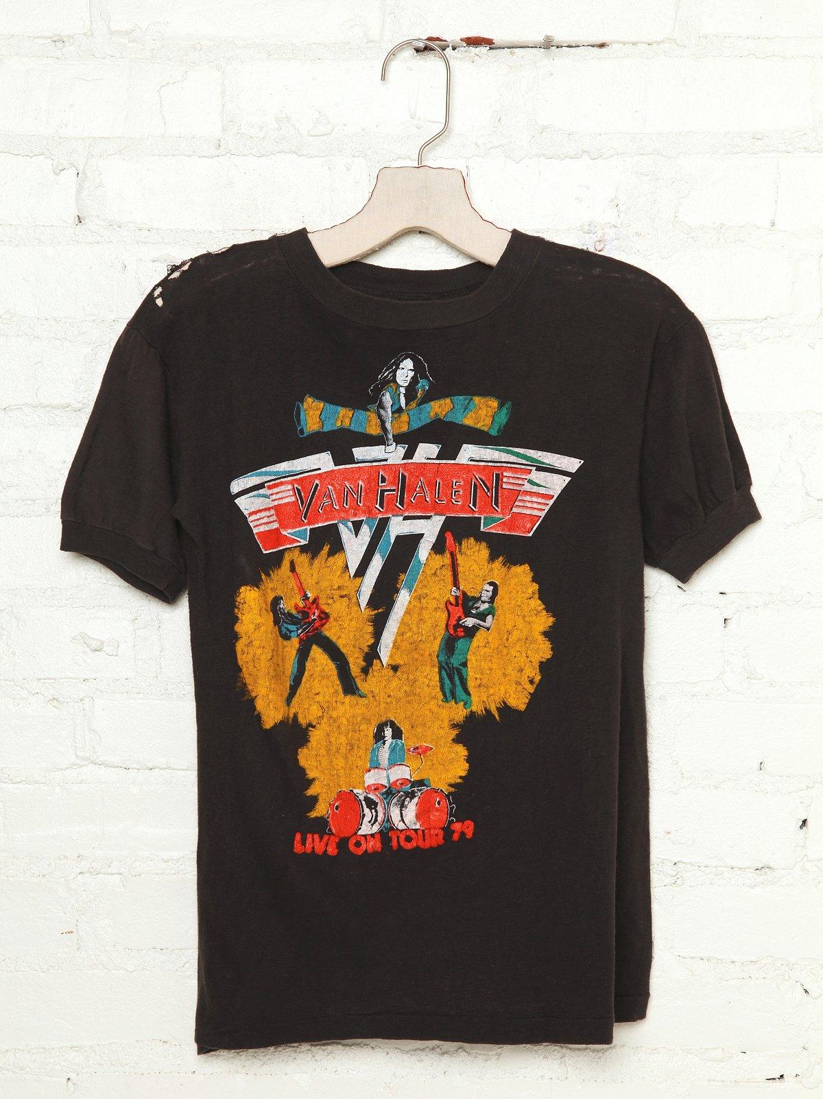 Vintage Van Halen 1979 Tour Tee