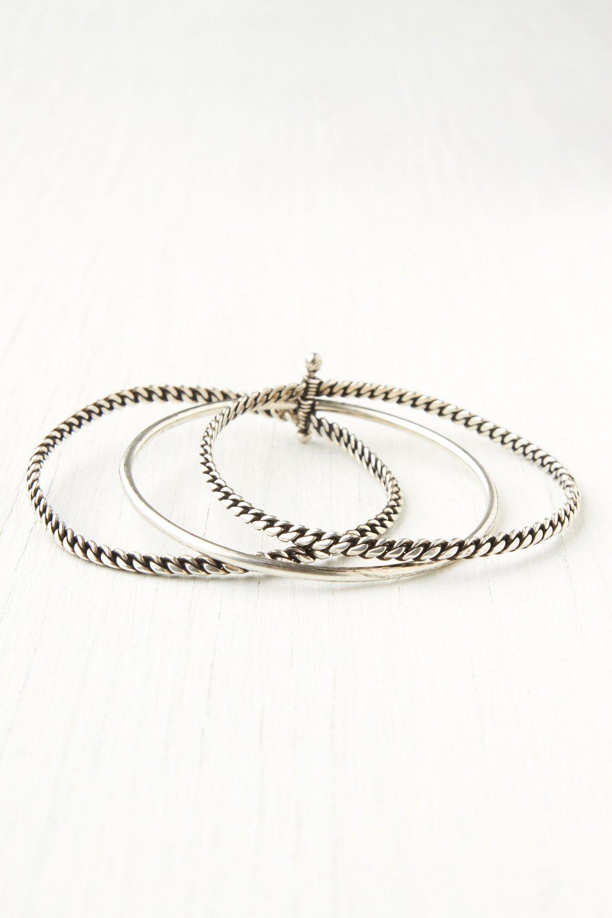 Chain Stack Bracelet Set