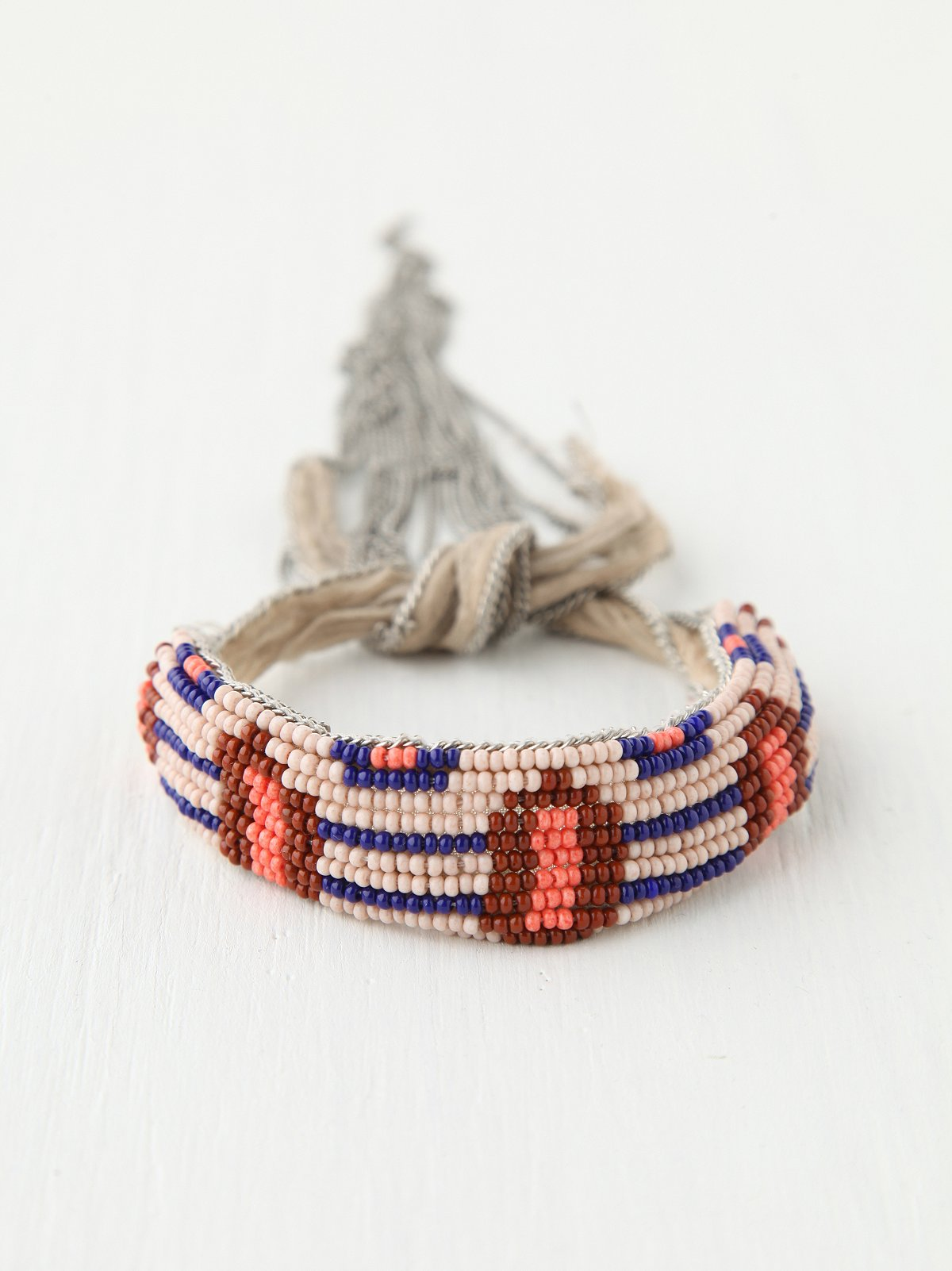 Summer Beaded Fringe Bracelet