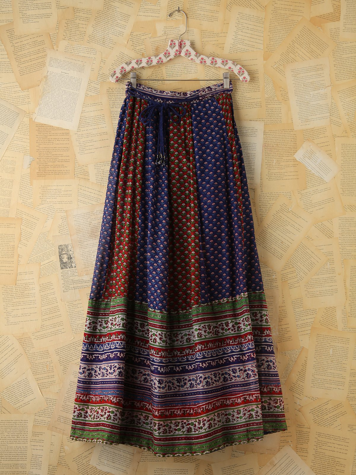 Vintage Indian Wrap Skirt