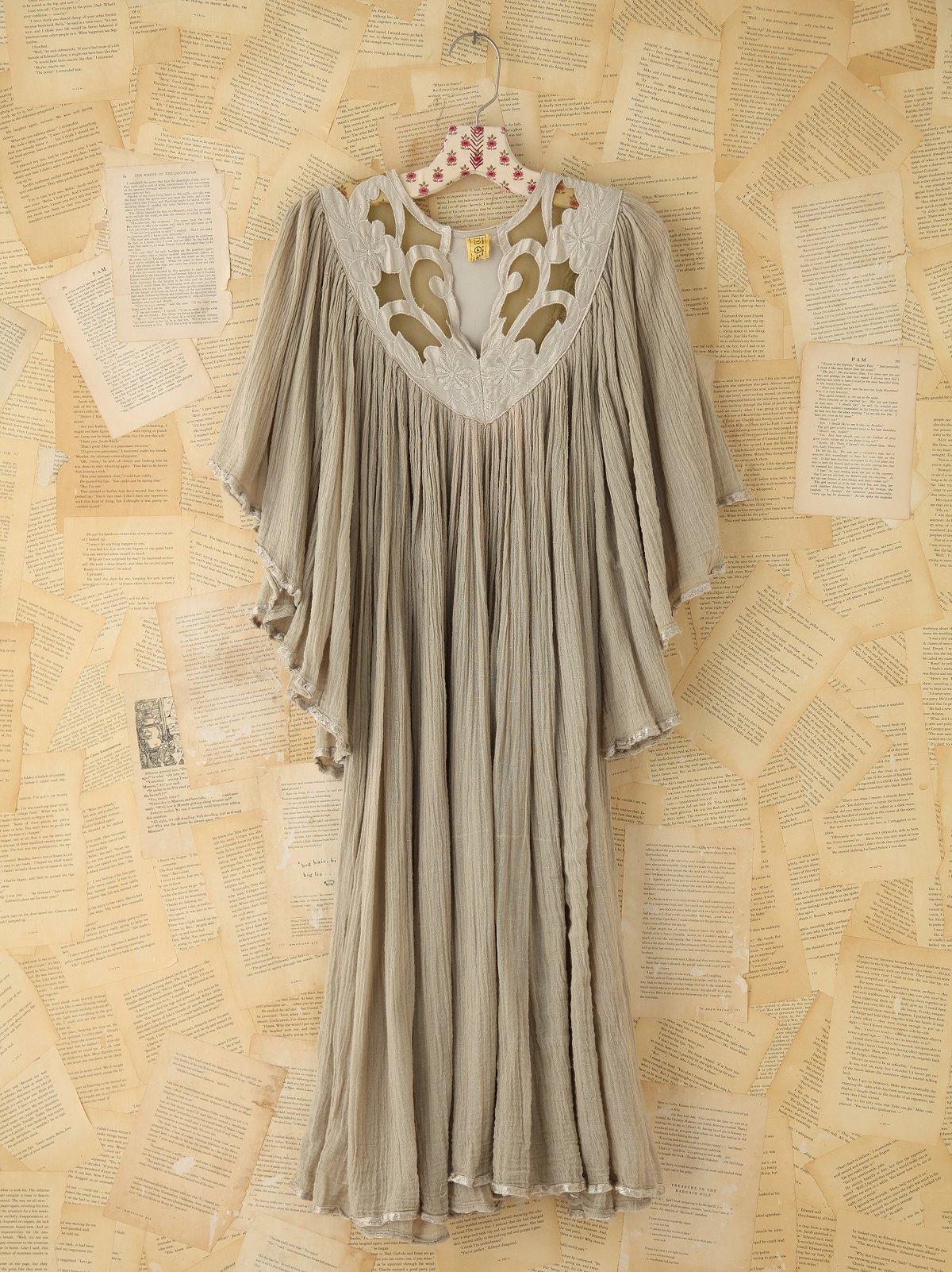 Vintage Gauzy Cotton Dress