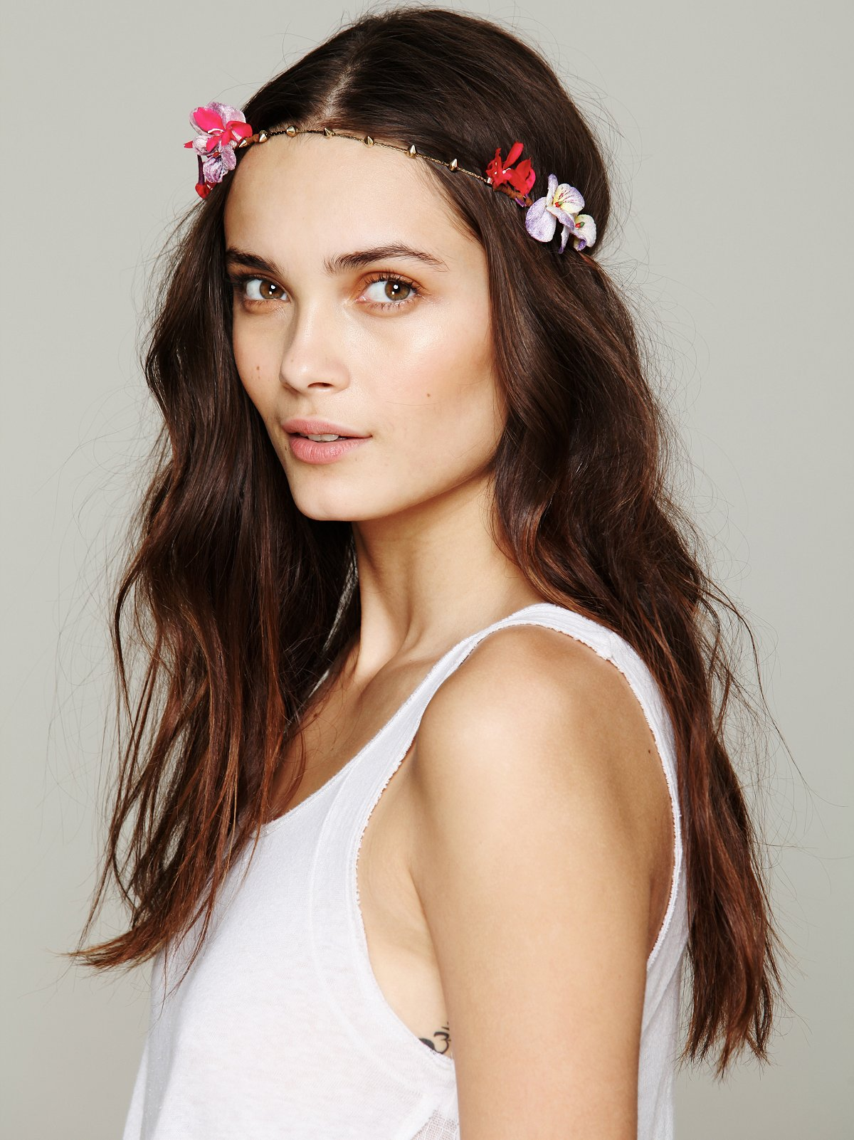 Spiked Floral Halo