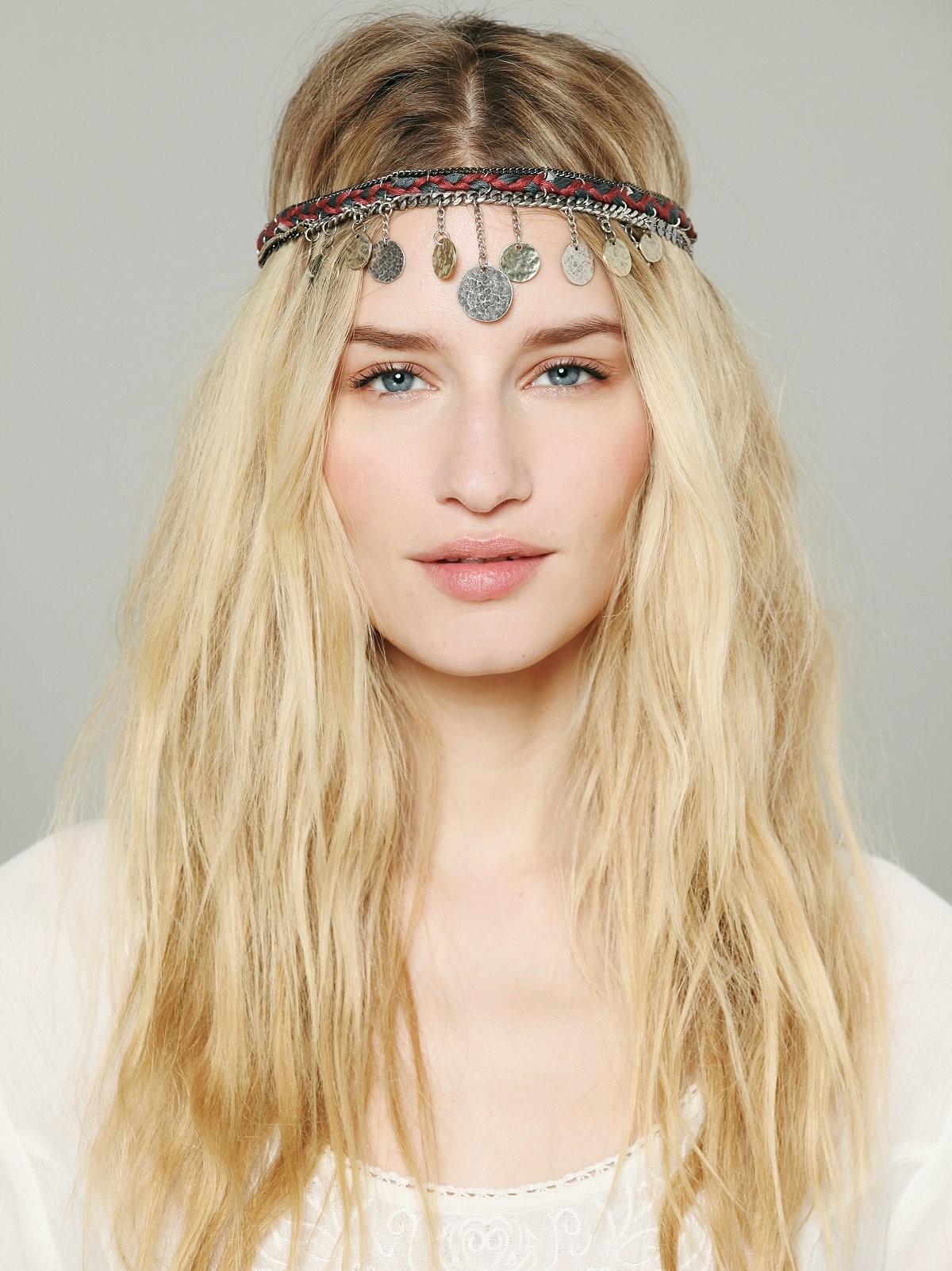 Embellished Coin Headpiece