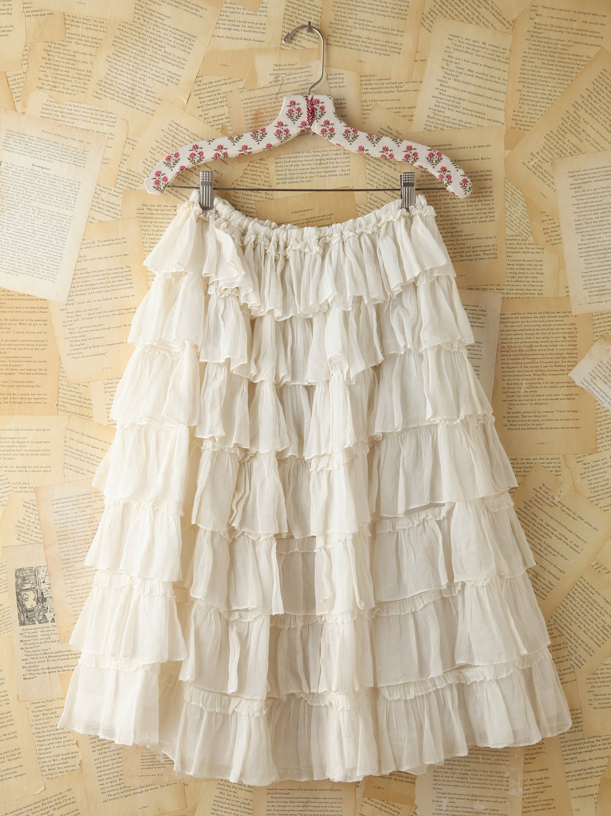 Vinage Tiered Ruffle Skirt