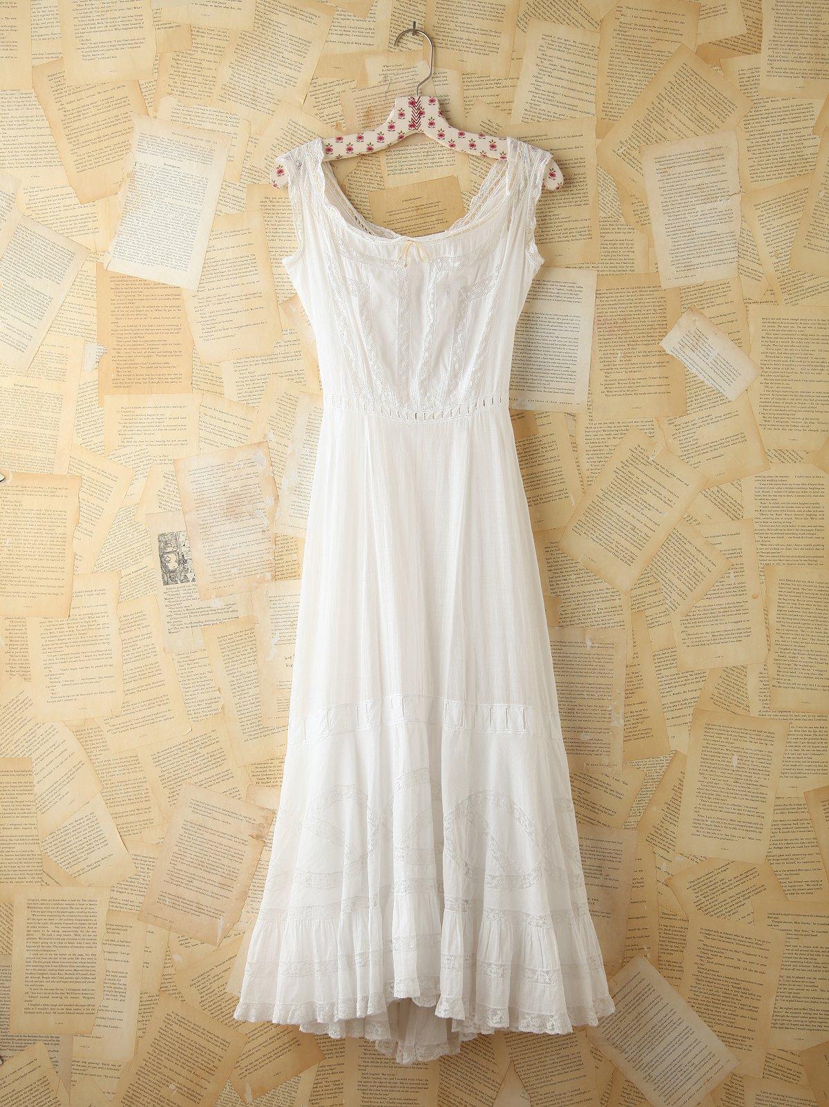 Vintage Cotton Maxi Dress