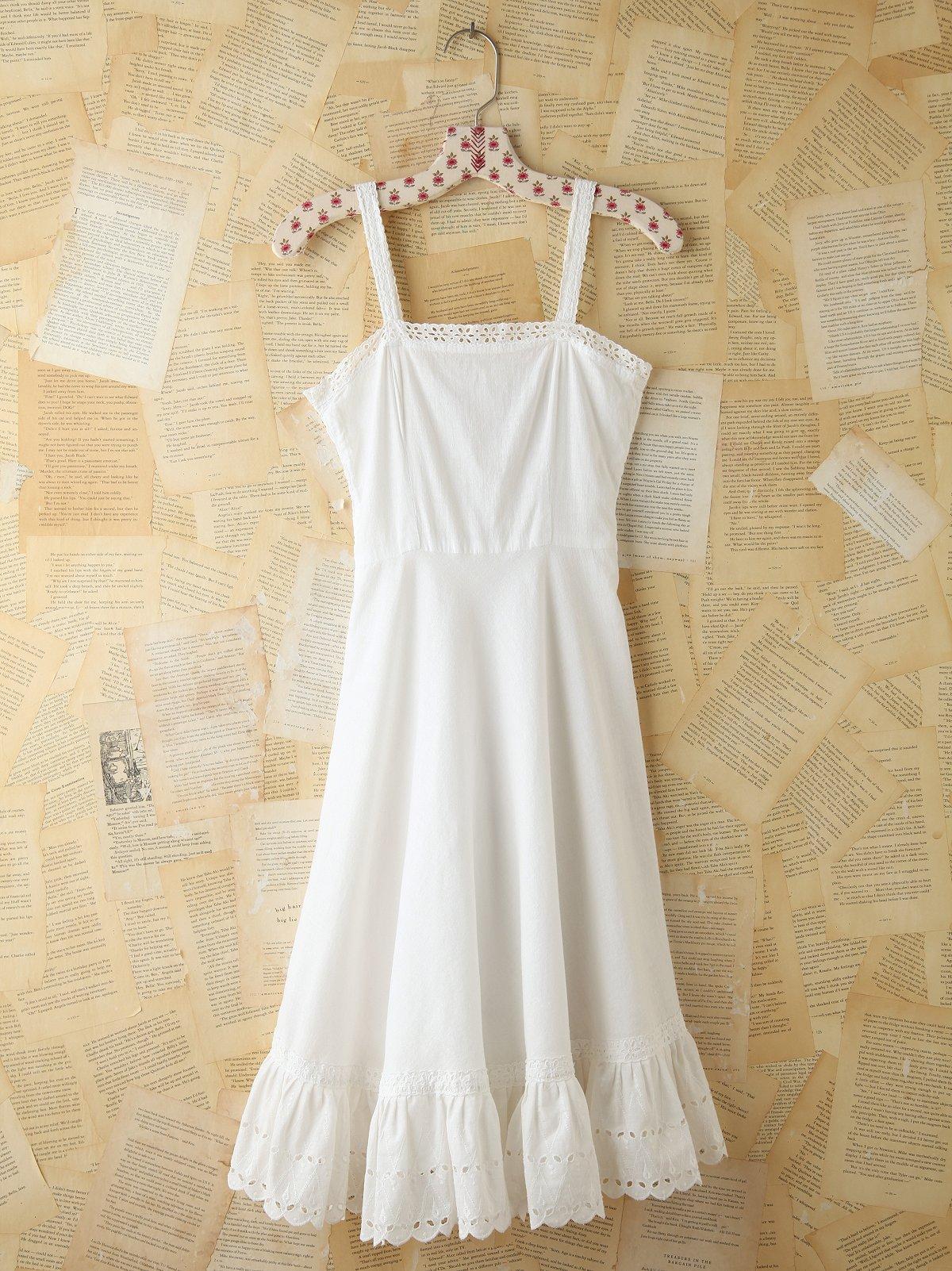 Vintage 1930 Eyelet Dress