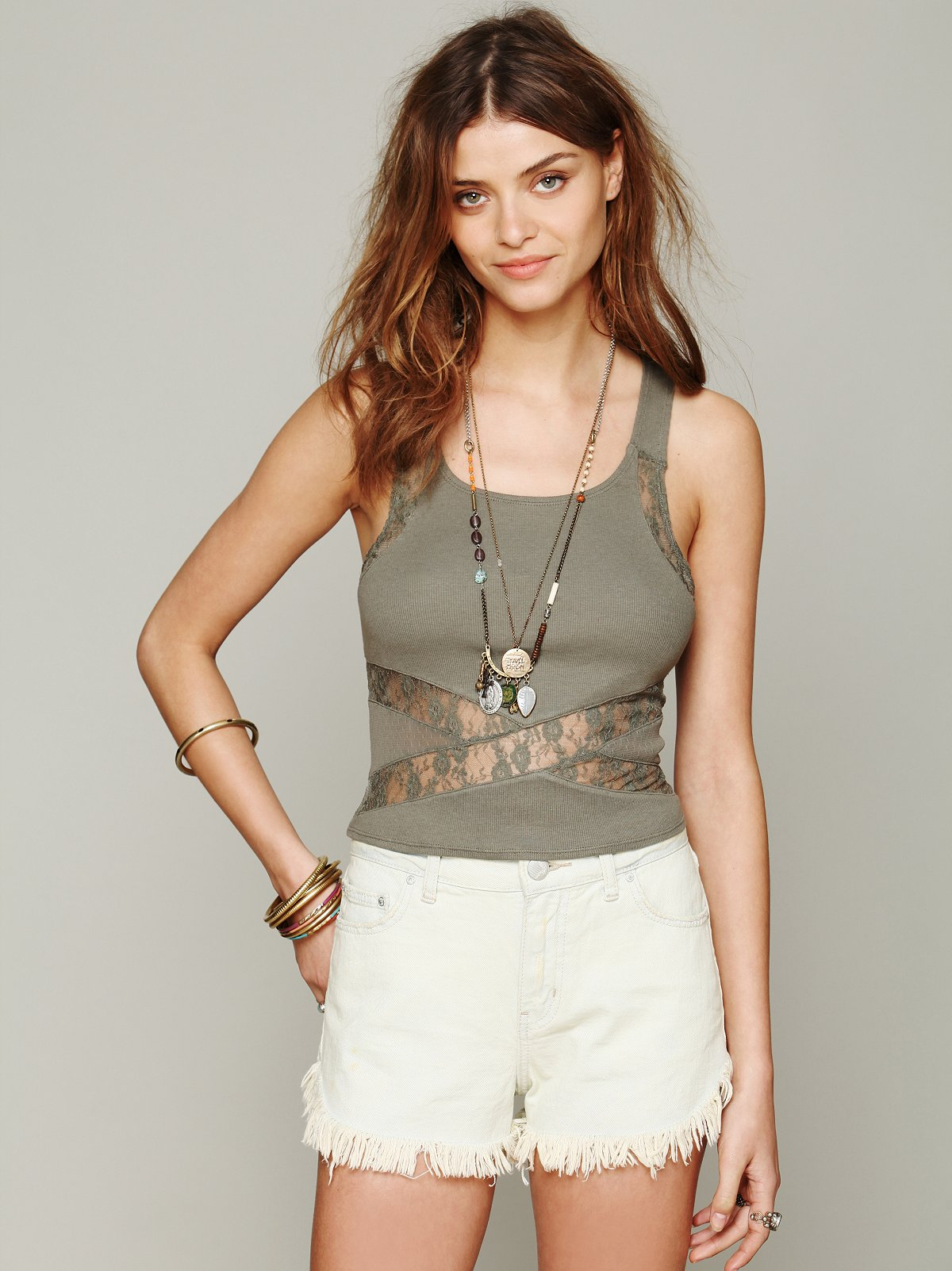 Criss Cross Crop Cami