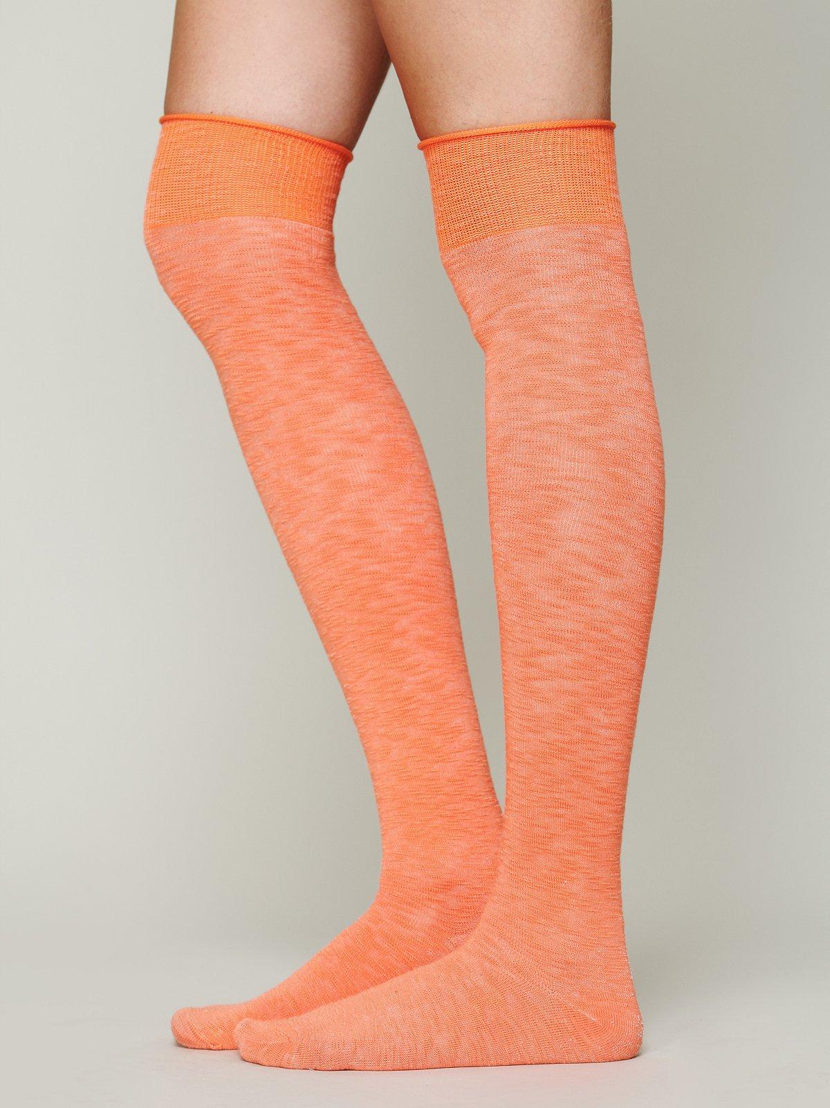 Twill Tall Sock