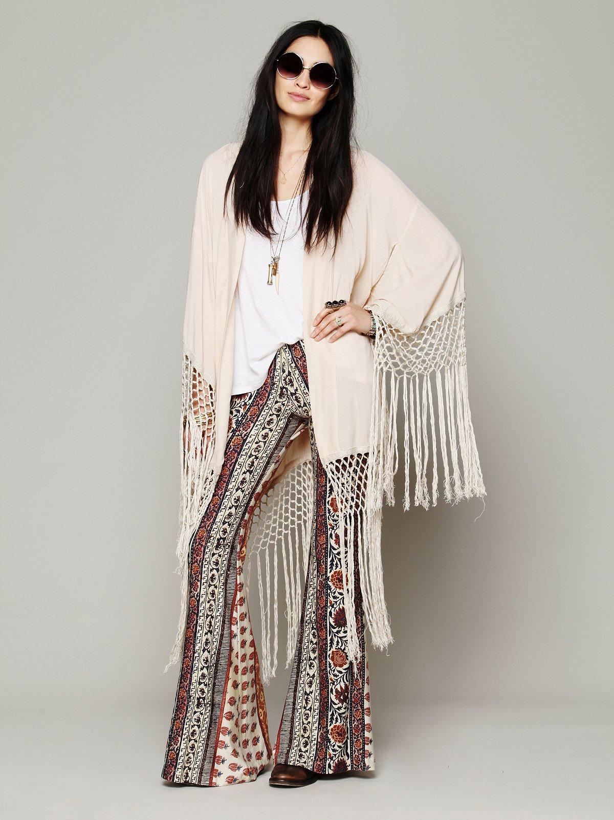 Stag Amulet Kimono