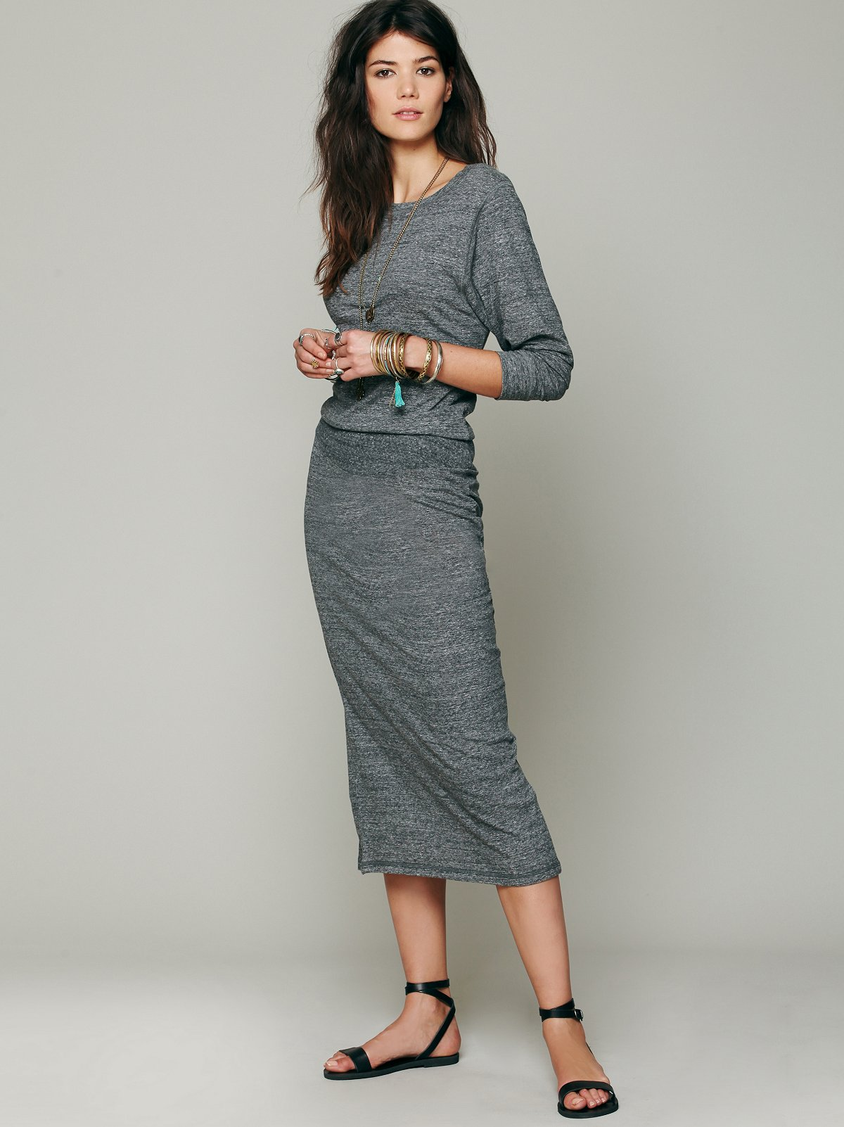 Recycled Jersey Lounge Dress