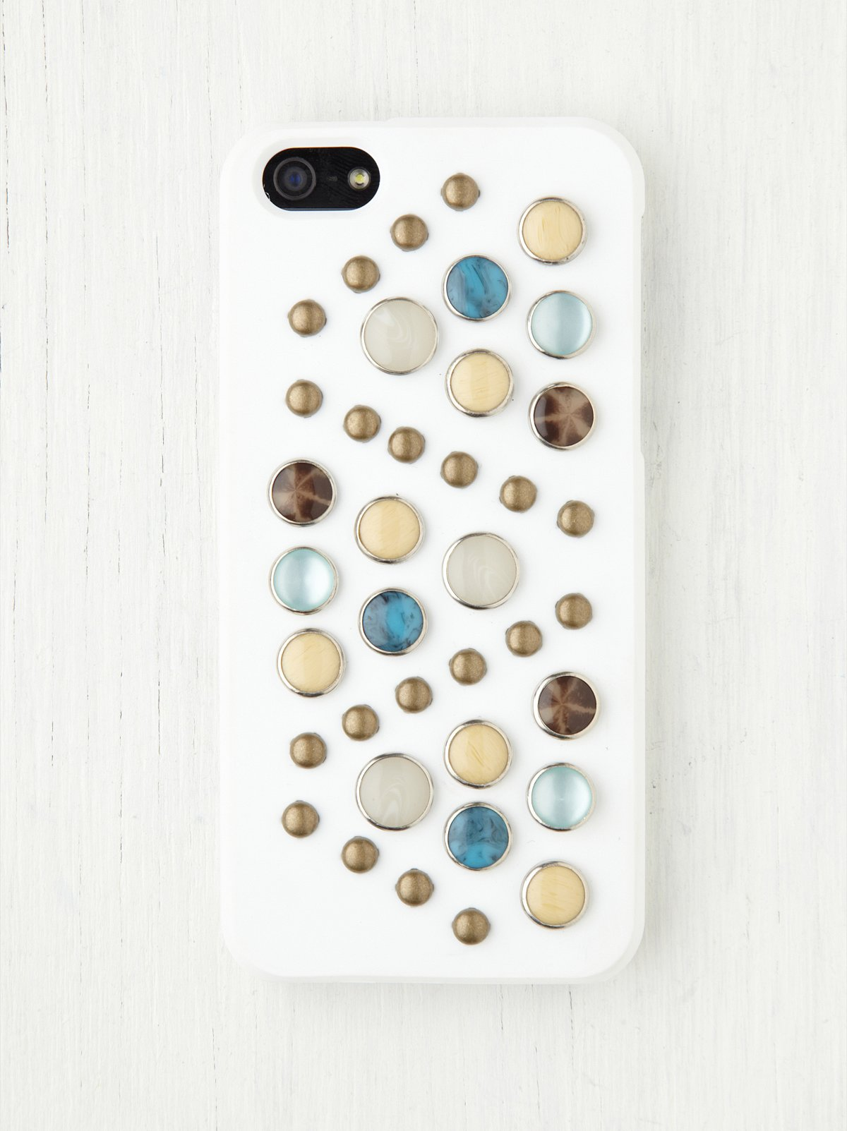 Stone Rubber iPhone 4/4S or 5 Case