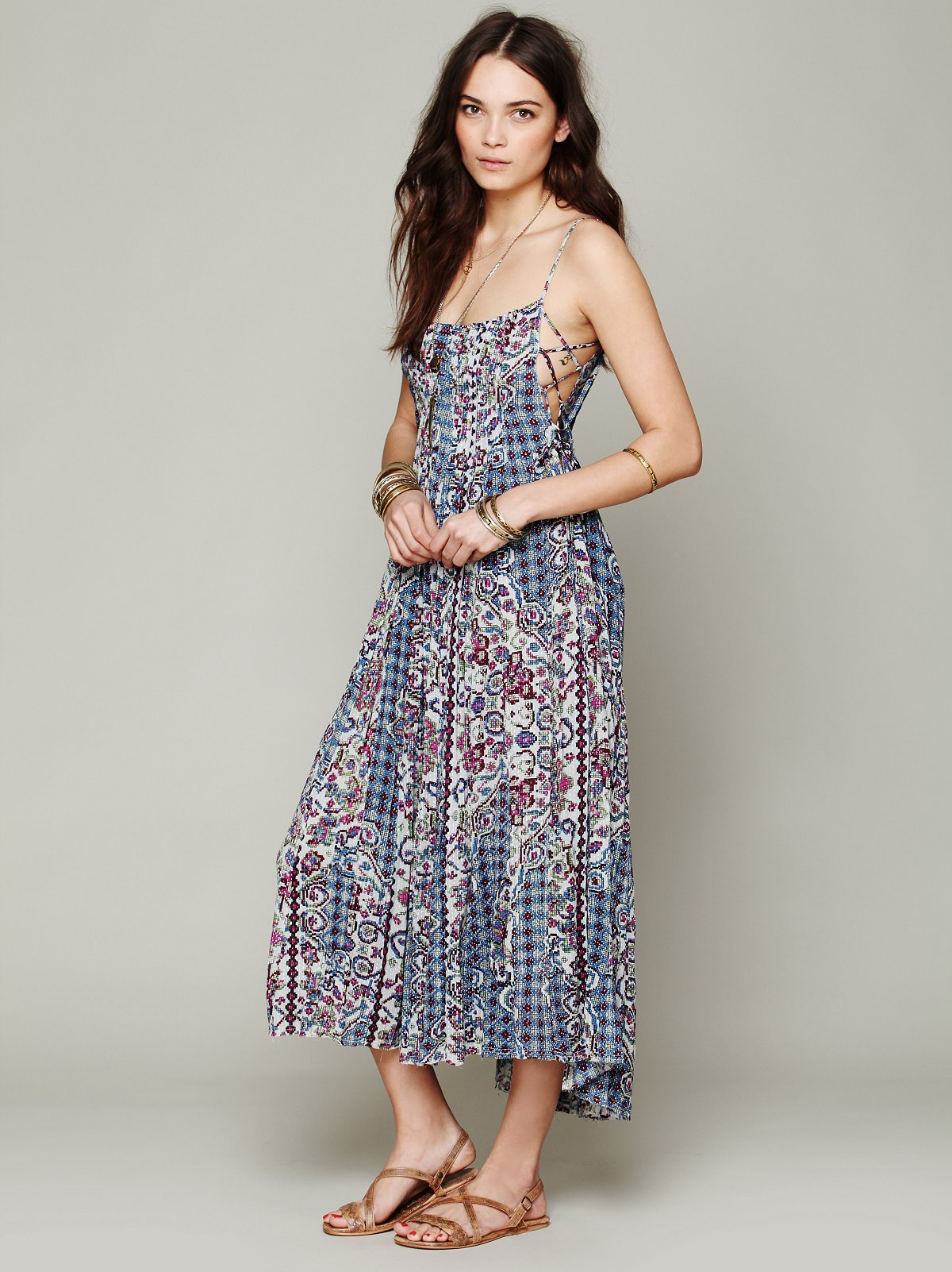 FP ONE Geo Gypsy Maxi Dress at Free People Clothing Boutique