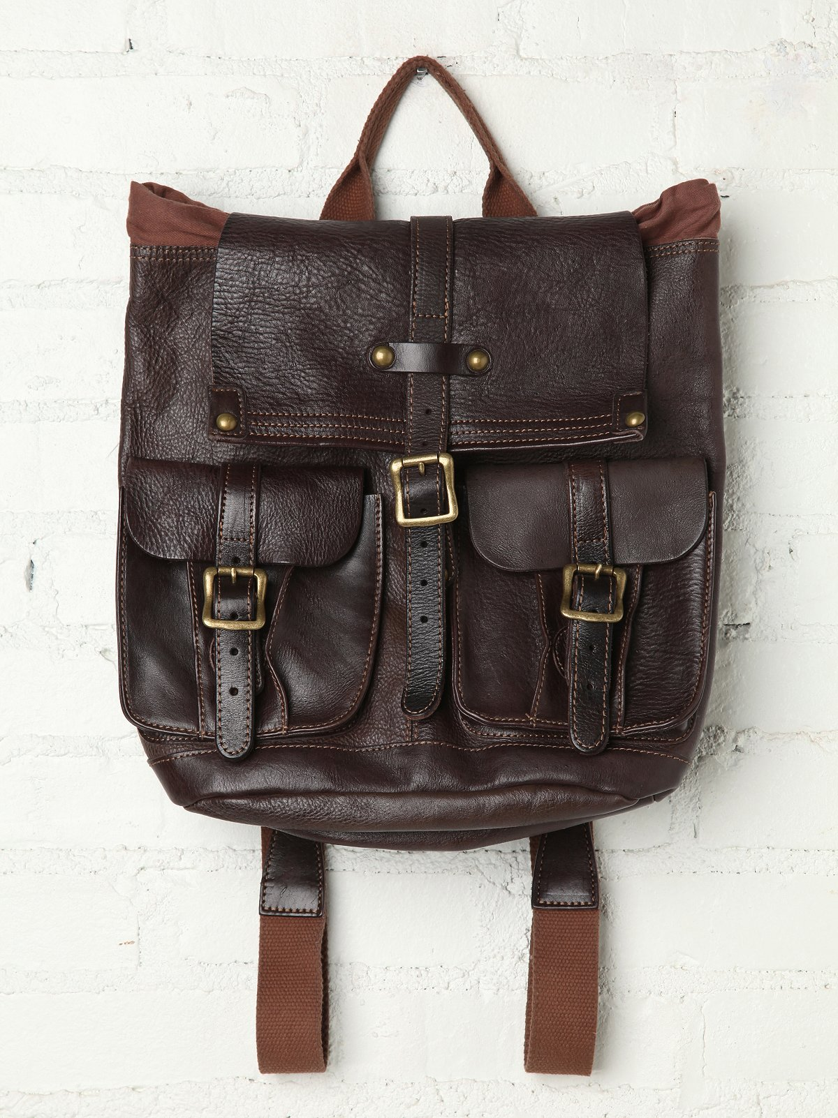 Shiloh Leather Backpack