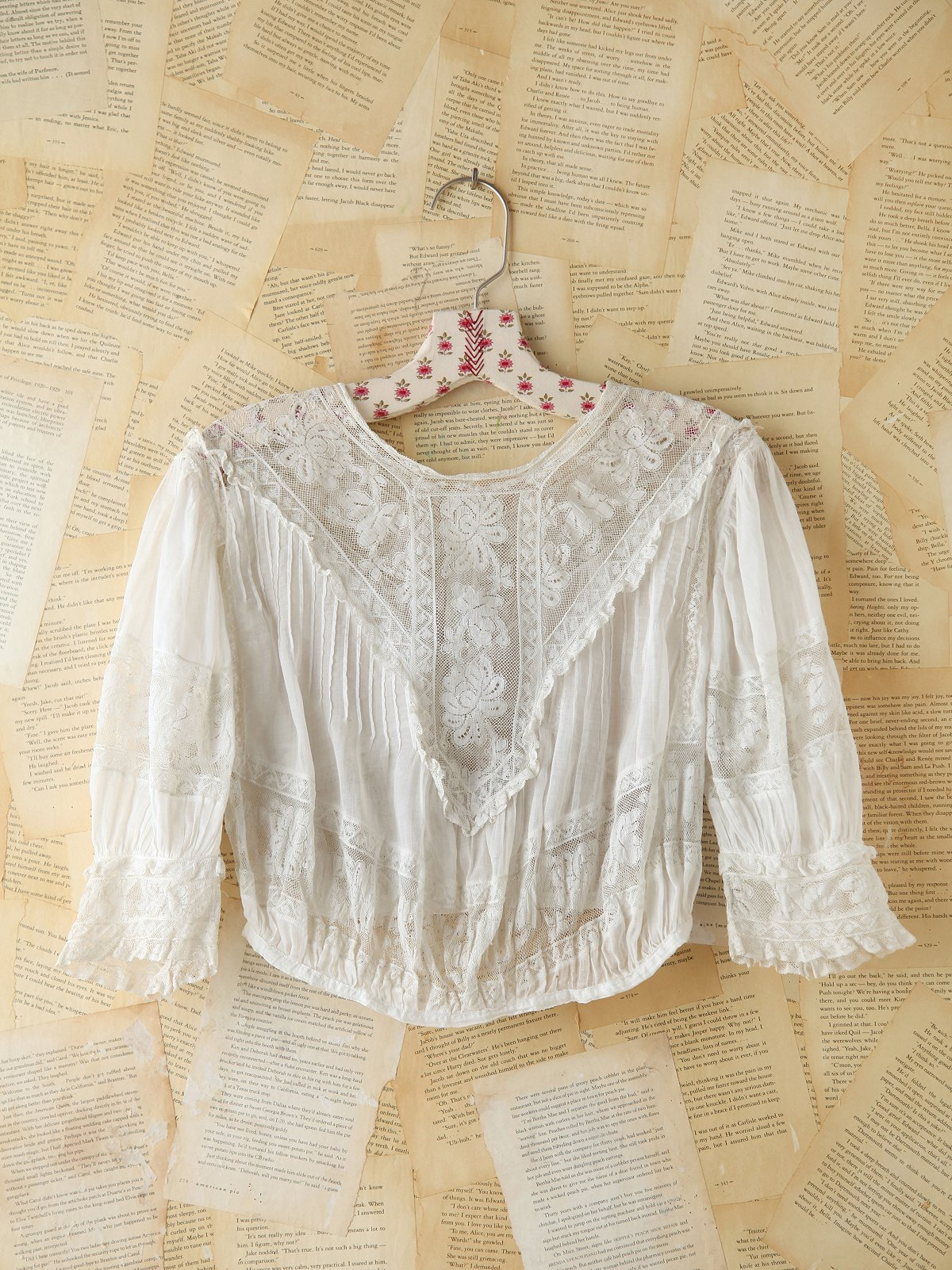 Vintage Lacey Crop Top