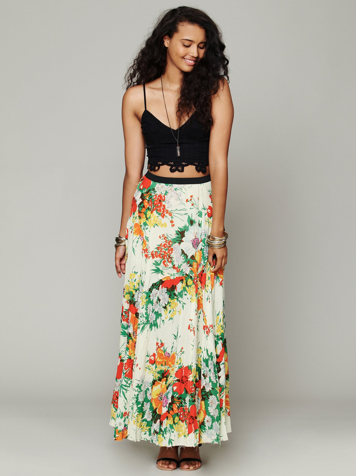 FP ONE Floral Patchwork Maxi