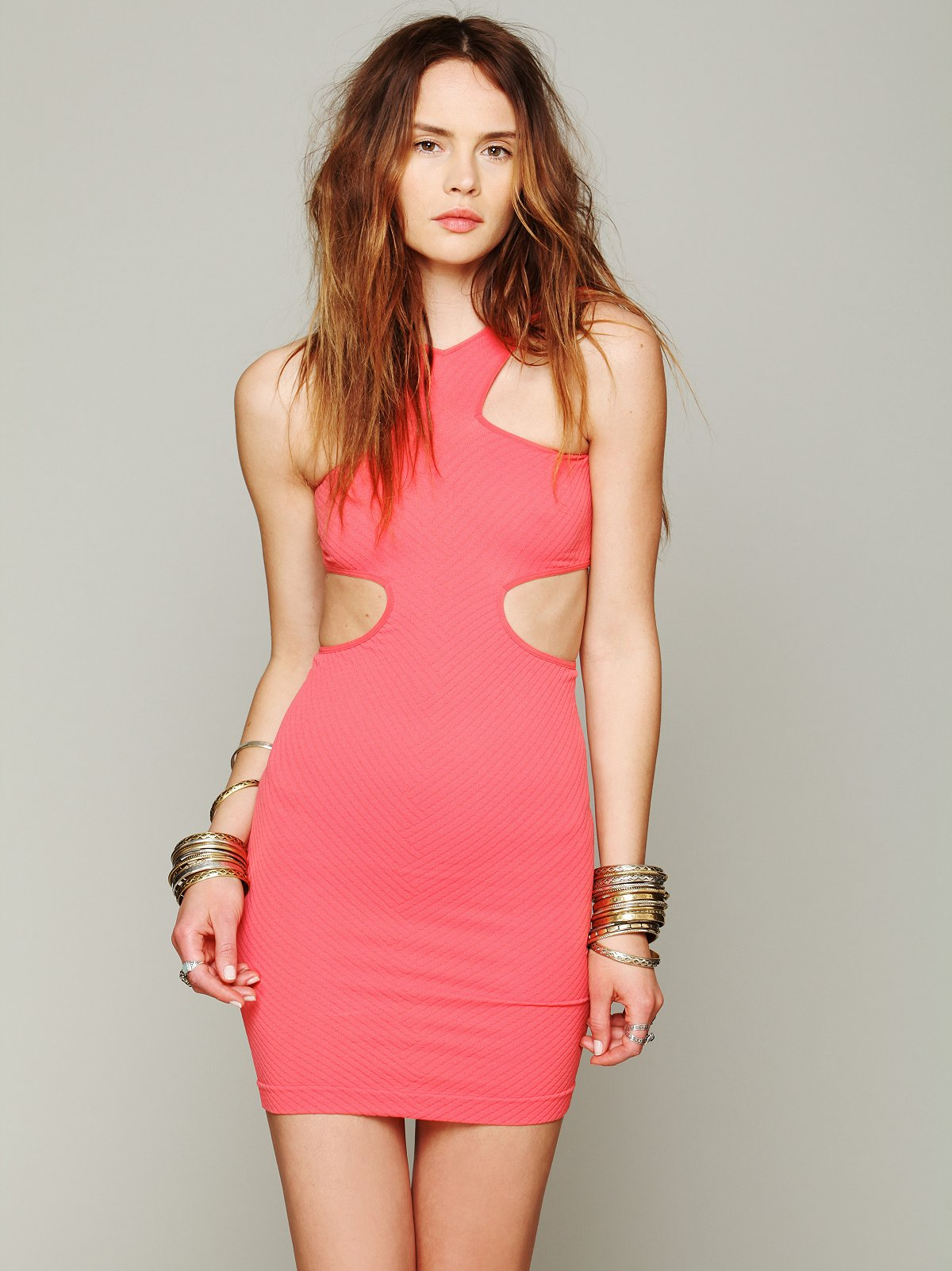 Cut Out Seamless Bodycon